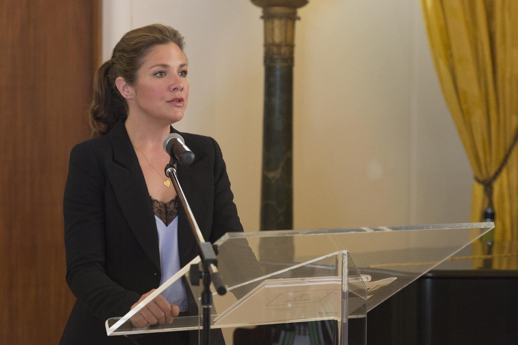 Ms. Sophie Grégoire Trudeau was one of the recipients.
