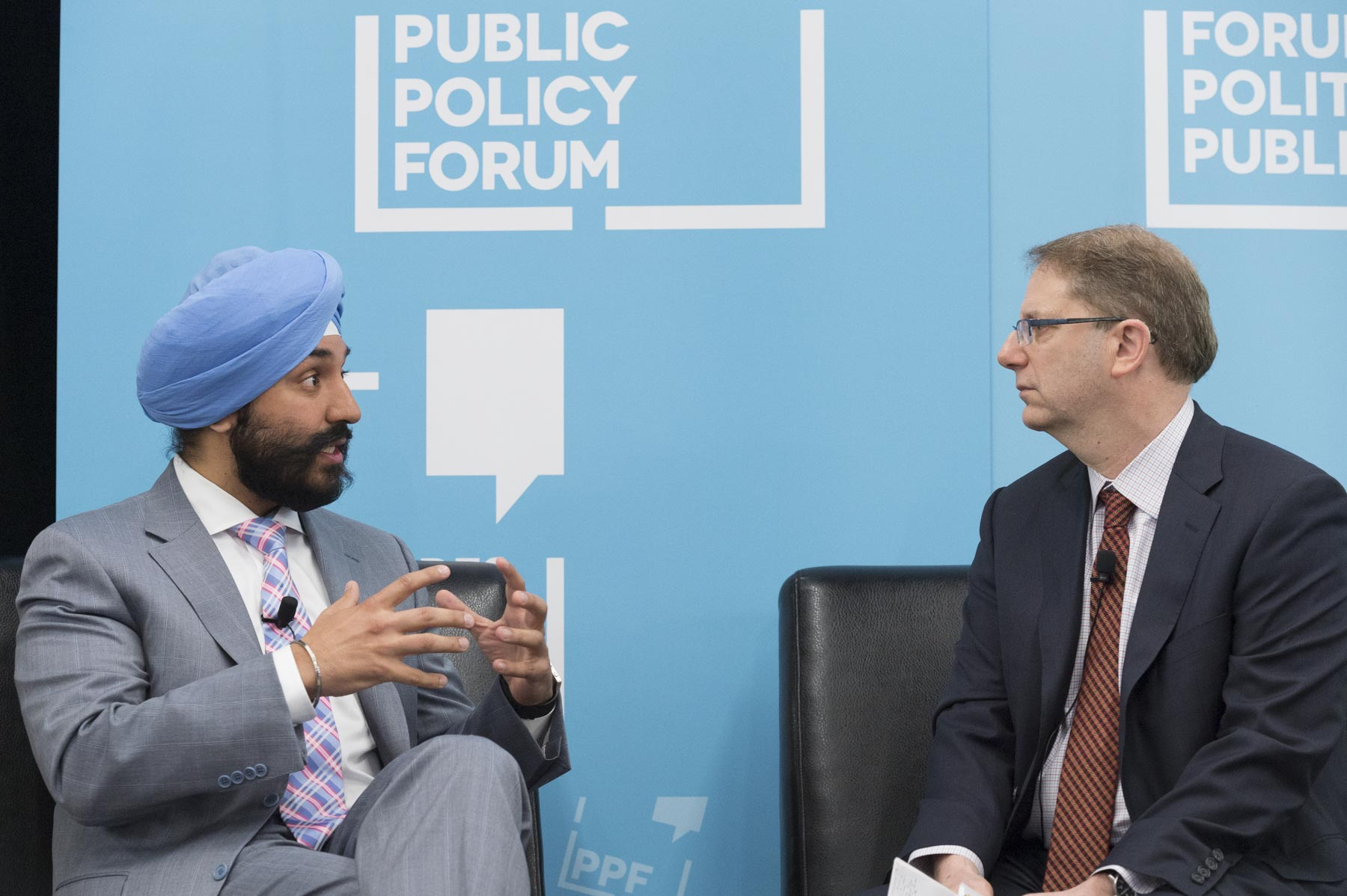 The Honourable Navdeep Bains, Minister of Innovation, Science and Economic Development, also took part in the event.
