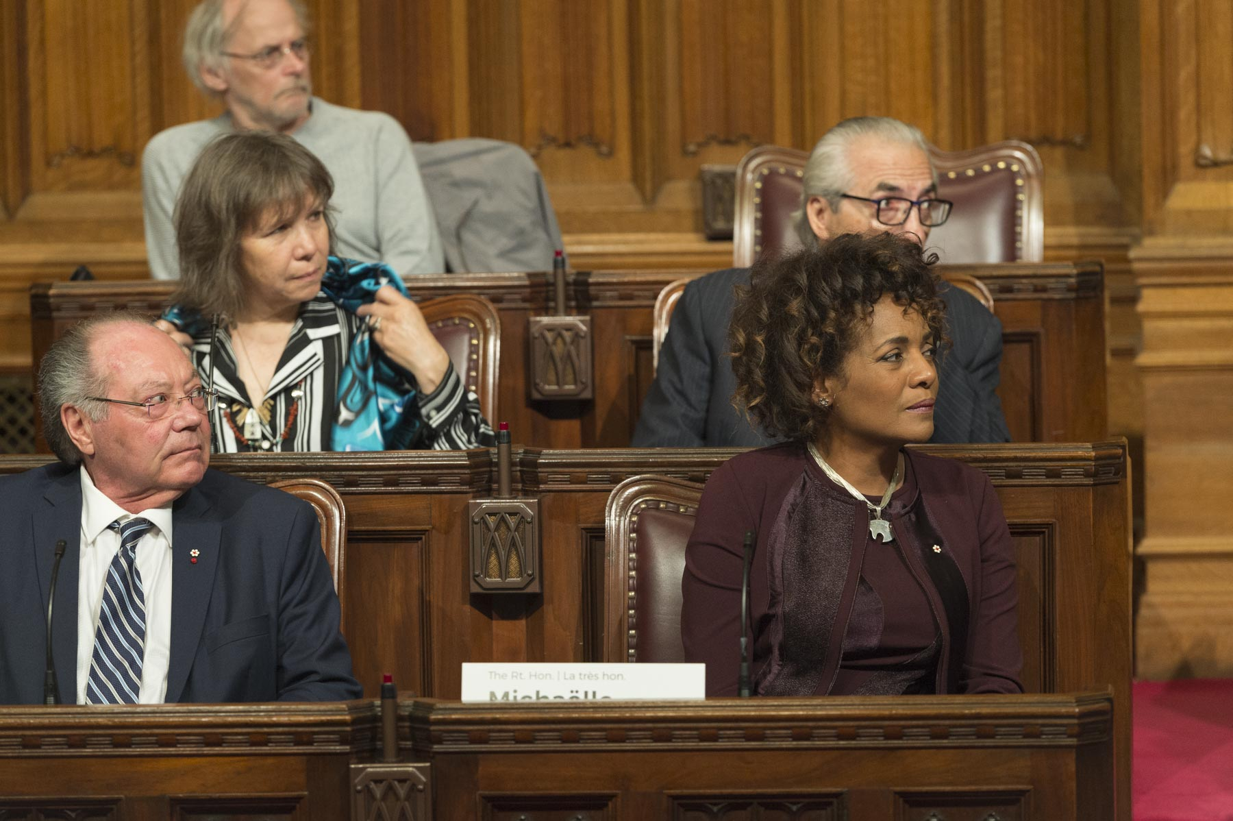 Michaëlle Jean, Secretary General of La Francophonie and 27th Governor General of Canada, was among participants.