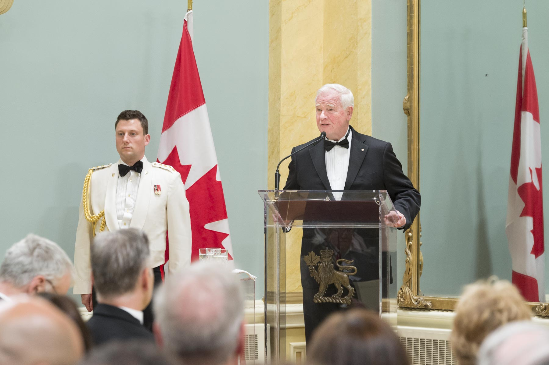 """The ground-breaking contributions that you and your research teams have made are so valuable, impressive and innovative. Together, you're addressing important issues in indigenous law, biology, ethics, genomics, and HIV/AIDS care and treatment,"" said the Governor General."