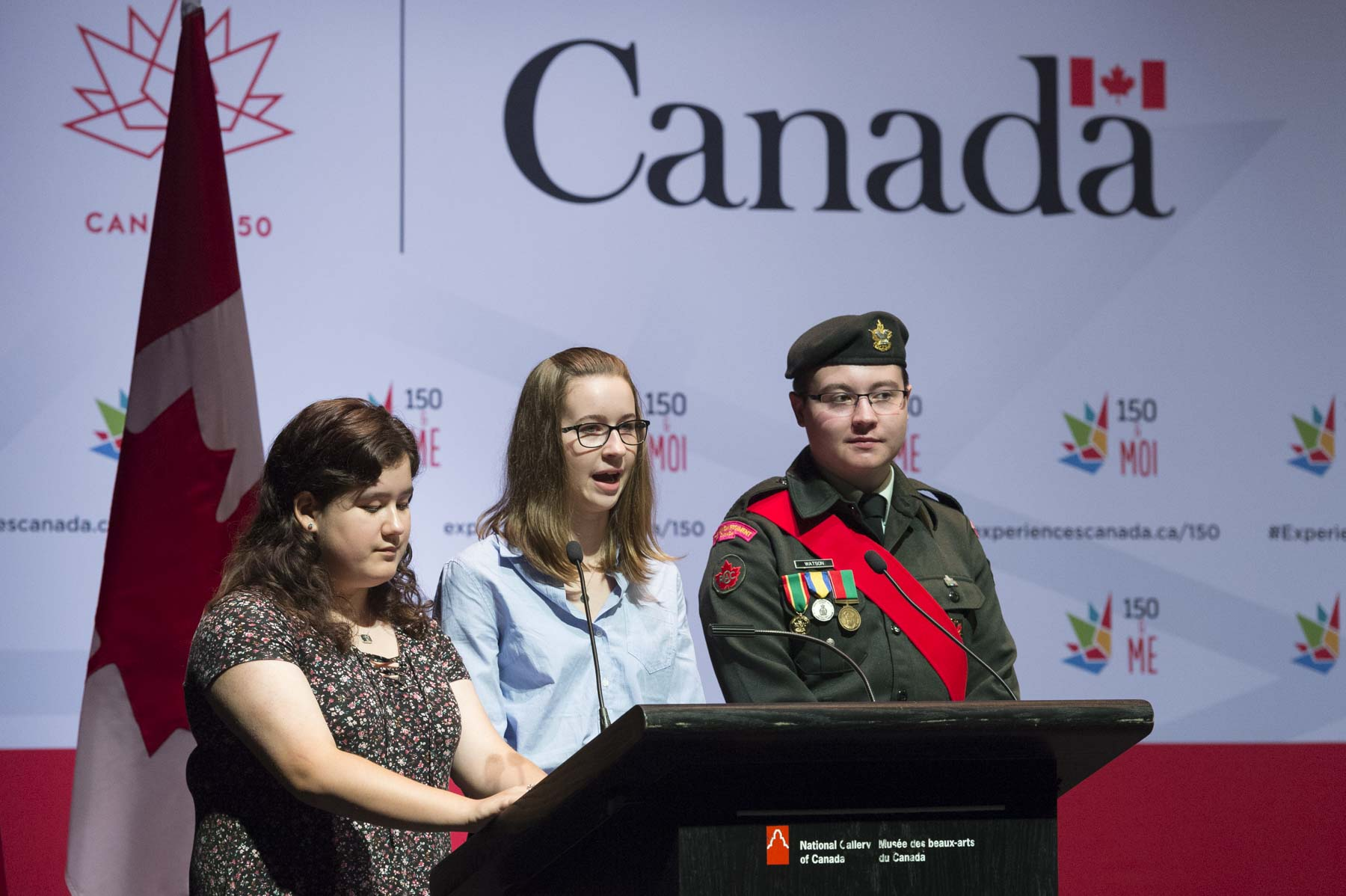 The Governor General attended Canada150&Me's National Youth Forum at the National Gallery of Canada, in Ottawa.