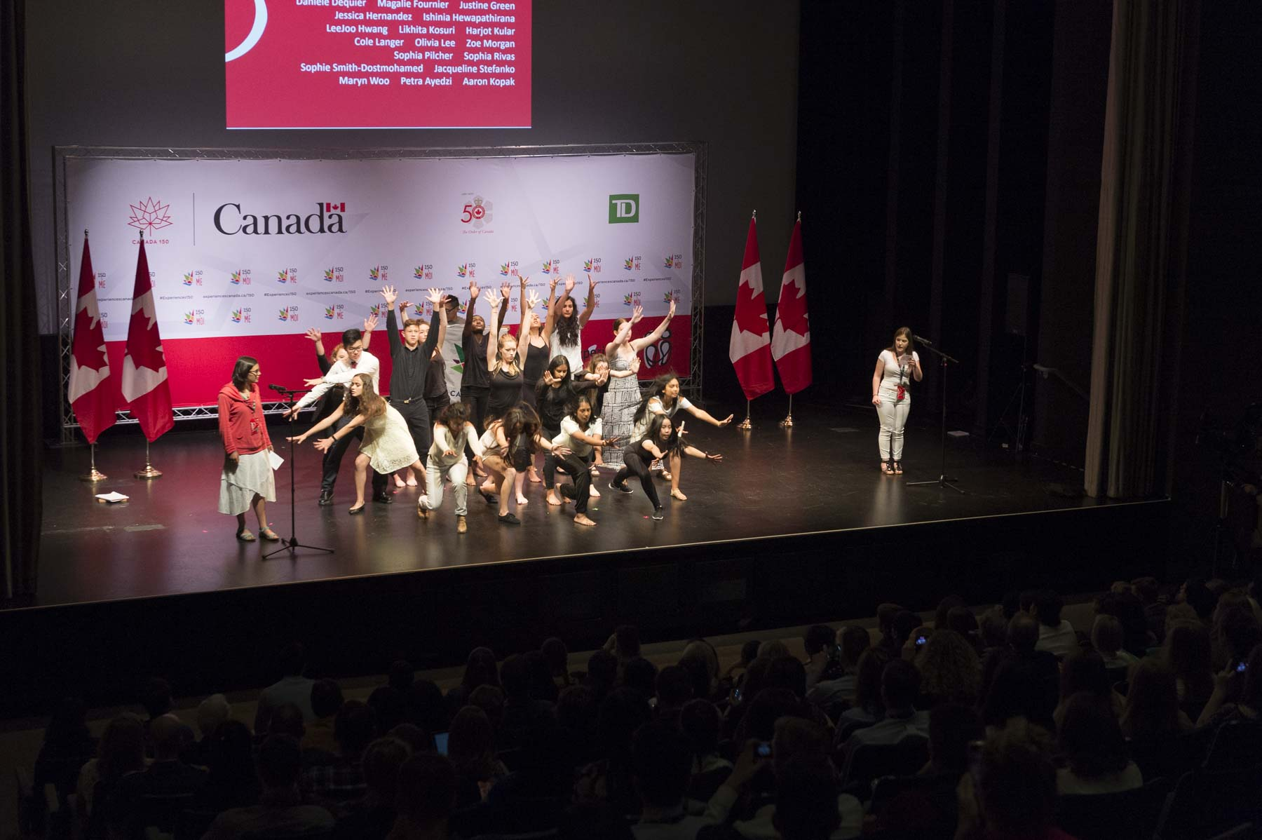 One of Canada 150's Signature Initiatives, Canada 150&Me is designed to put young Canadians between the ages of 14 and 19 at the forefront of the national celebrations. Thousands of youth from across the country have been engaged in these discussions in person and online. Each forum focused on topics relevant to youth today including the environment, immigration and diversity, Canada in the world, and human rights.