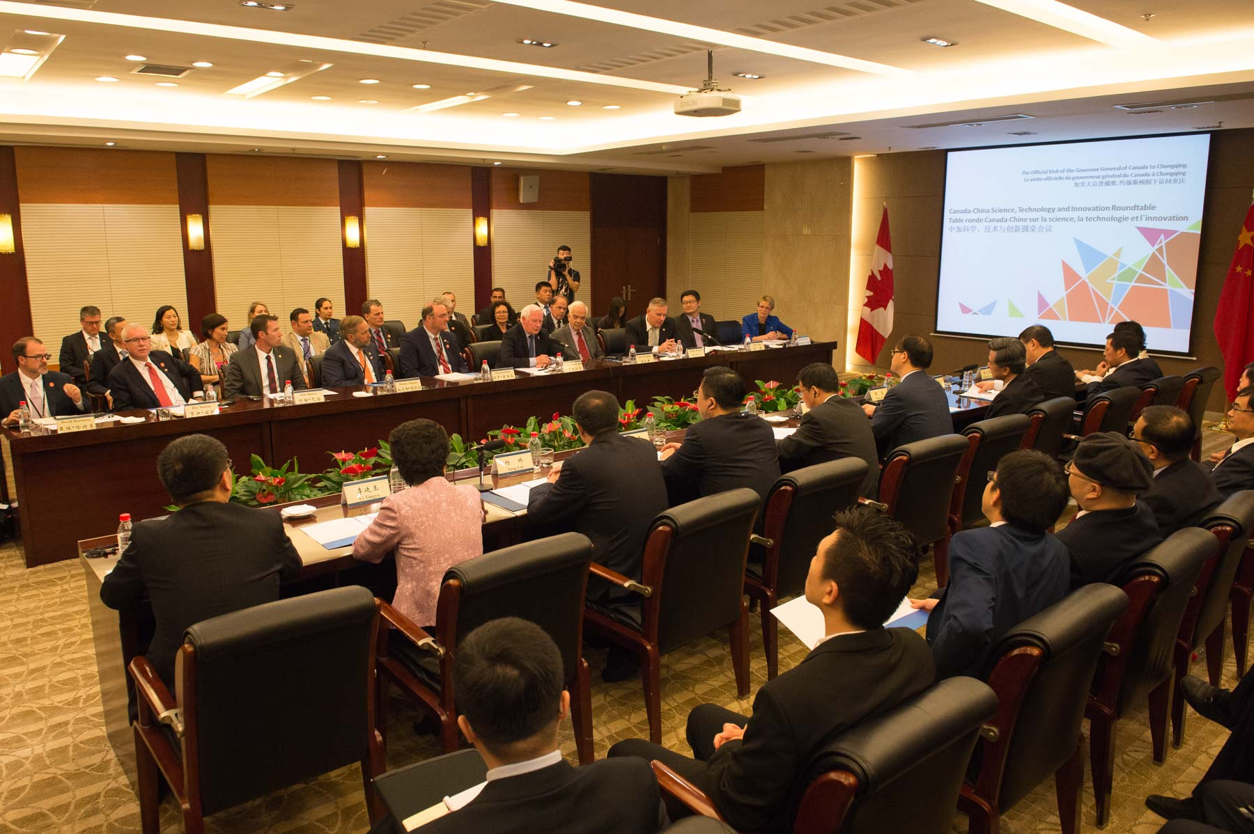 Researchers from both Chinese and Canadian universities were also present to share their expertise and to discuss potential commercialization opportunities arising from these Canada-China collaborations.