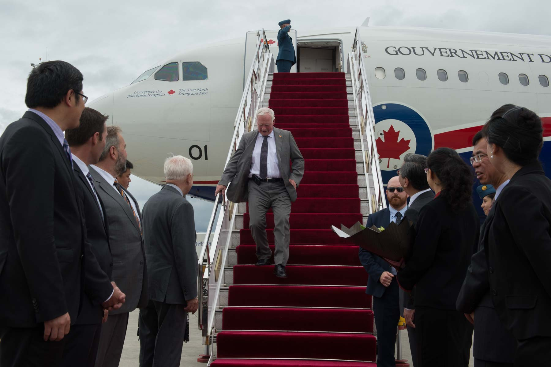 Following the round-table discussion, the Governor General and Canadian delegates travelled to Guiyang.