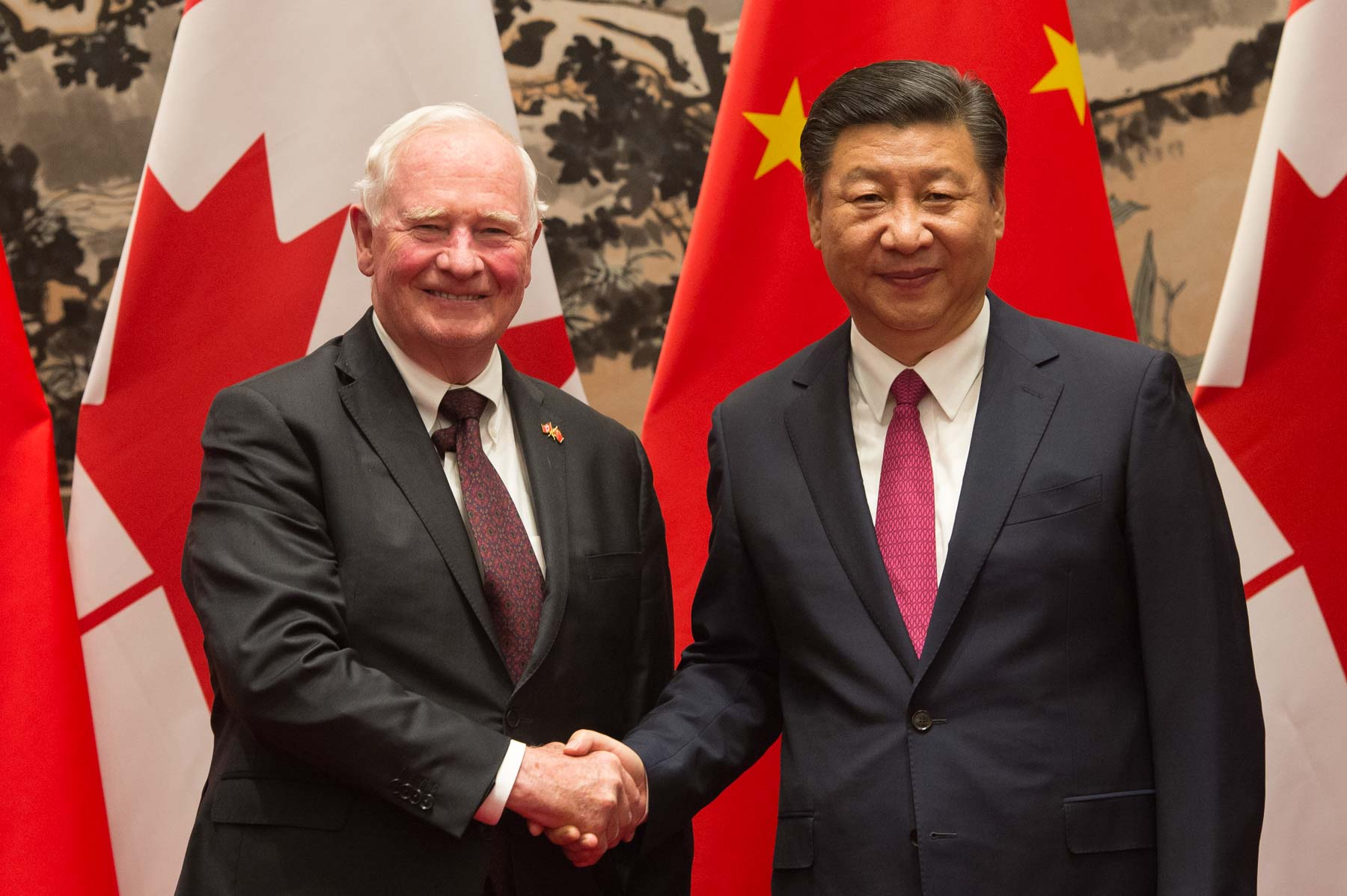 Later in the afternoon, the Governor General met with President Xi Jinping.