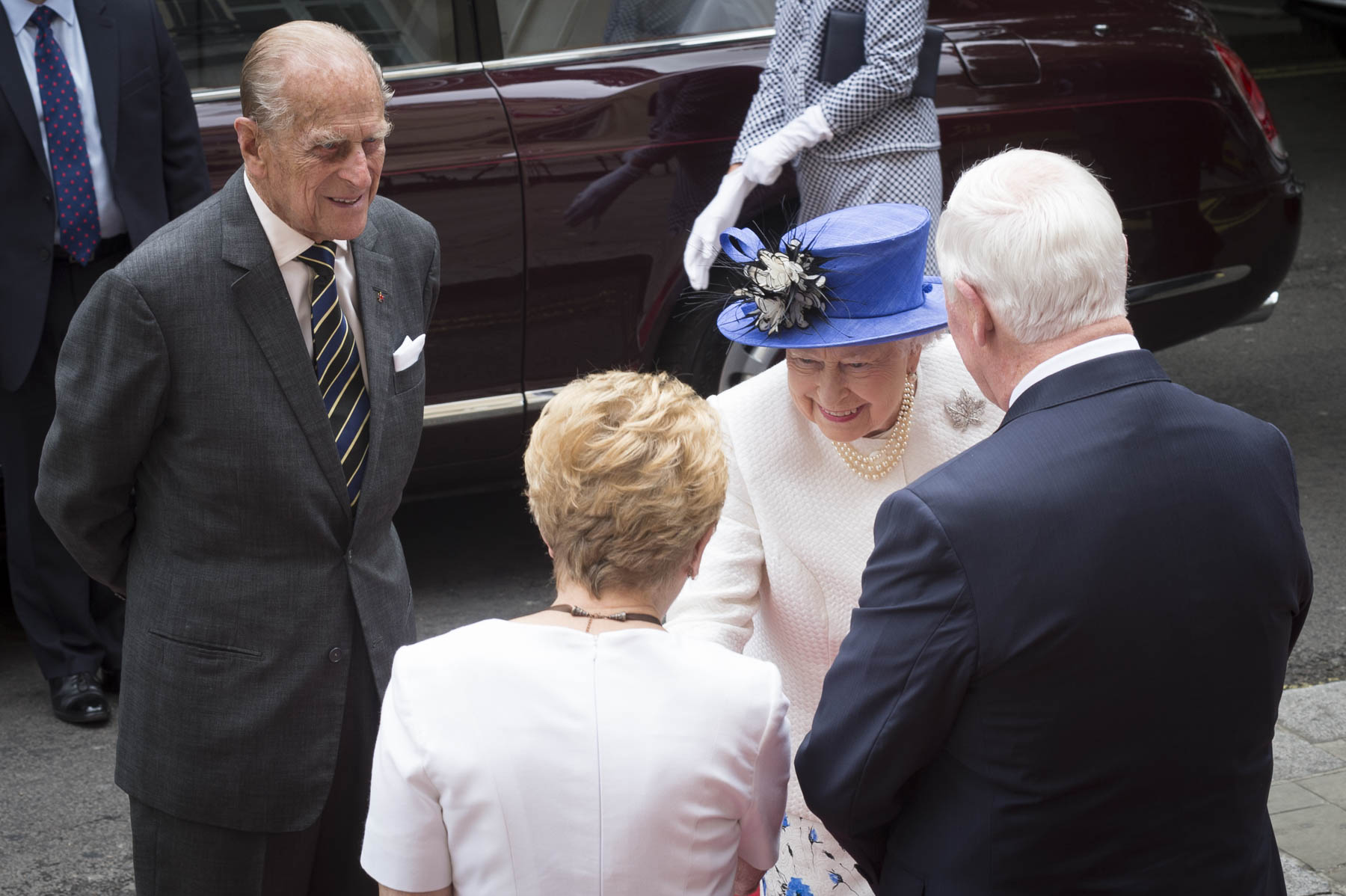 On July 19, 2017, Her Majesty The Queen and His Royal Highness The Duke of Edinburgh joined Their Excellencies at Canada House for a celebration to mark the 150th anniversary of Confederation.