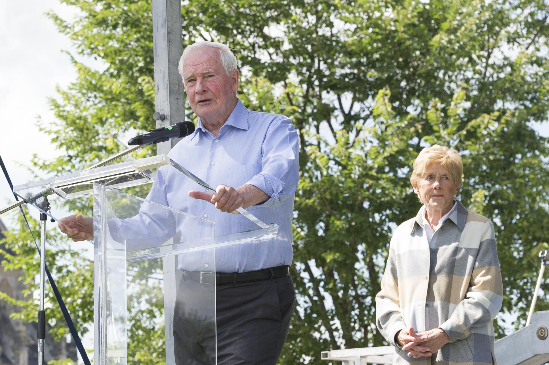 Their Excellencies attended The Great Trail Cross-Canada Connection Celebration as patrons of the Trans Canada Trail.