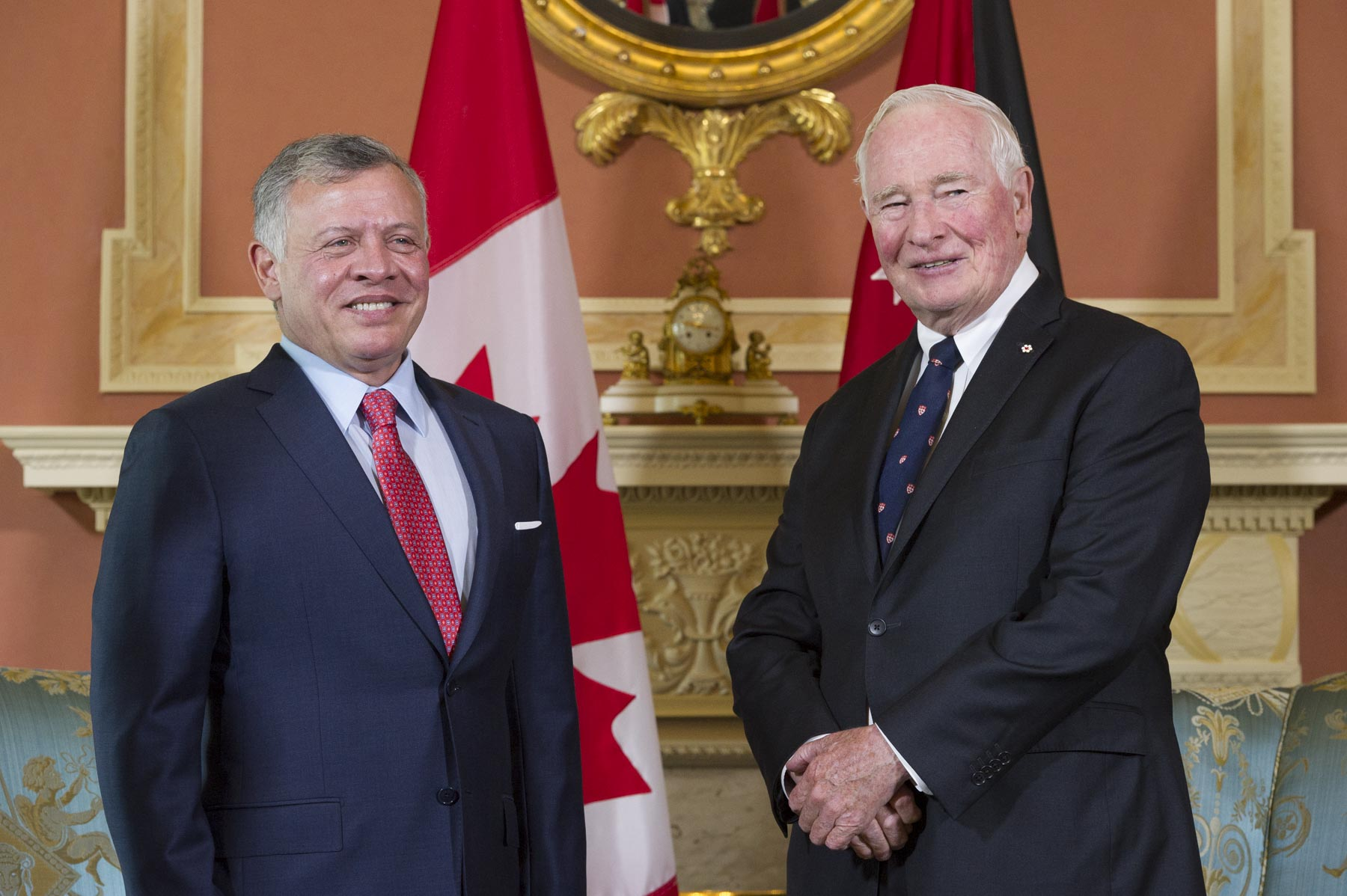 His Majesty King Abdullah II then met with the Governor General.