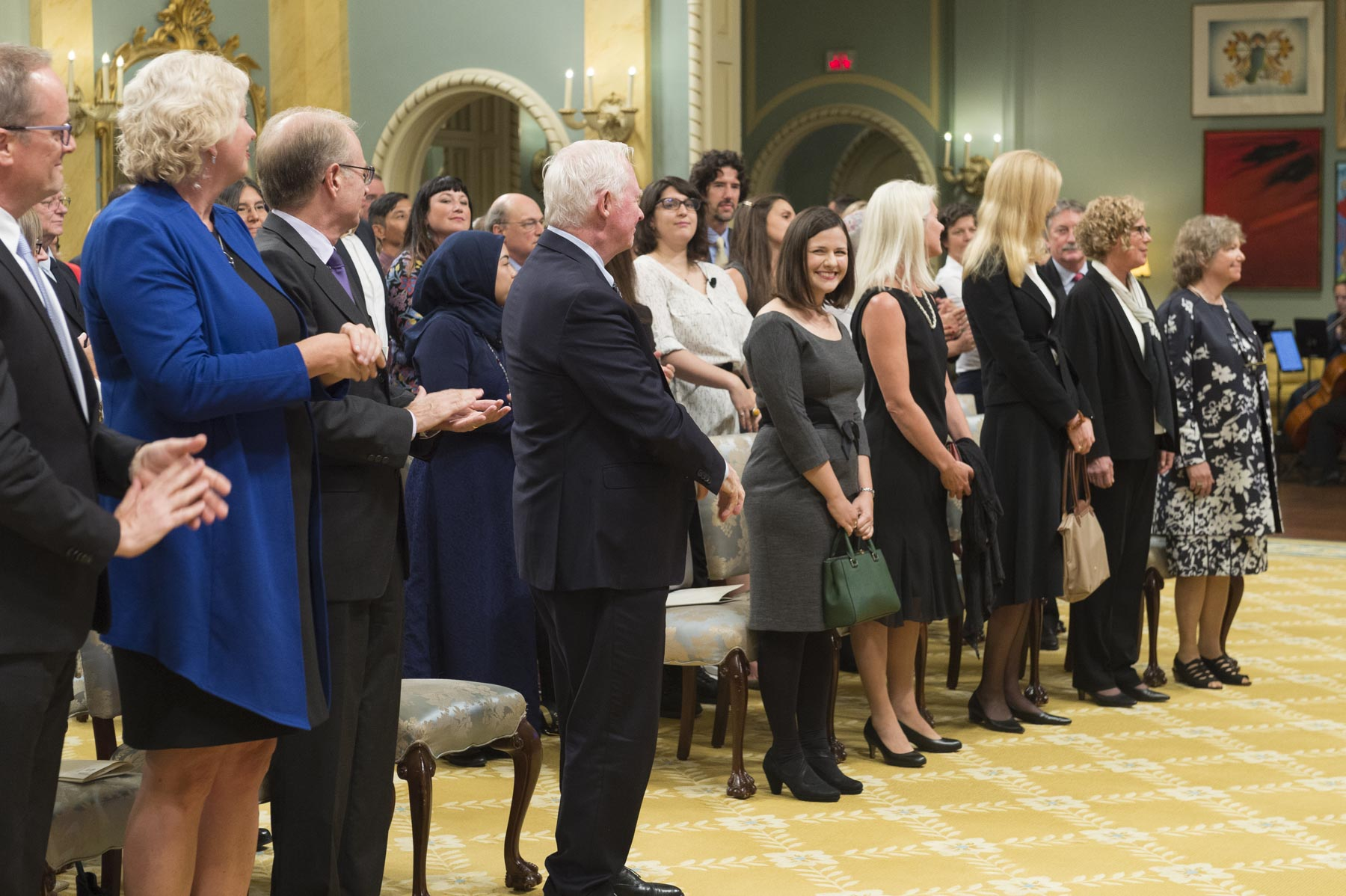The Governor General presented the 2017 Social Sciences and Humanities Research Council (SSHRC) Impact Awards during a ceremony at Rideau Hall.