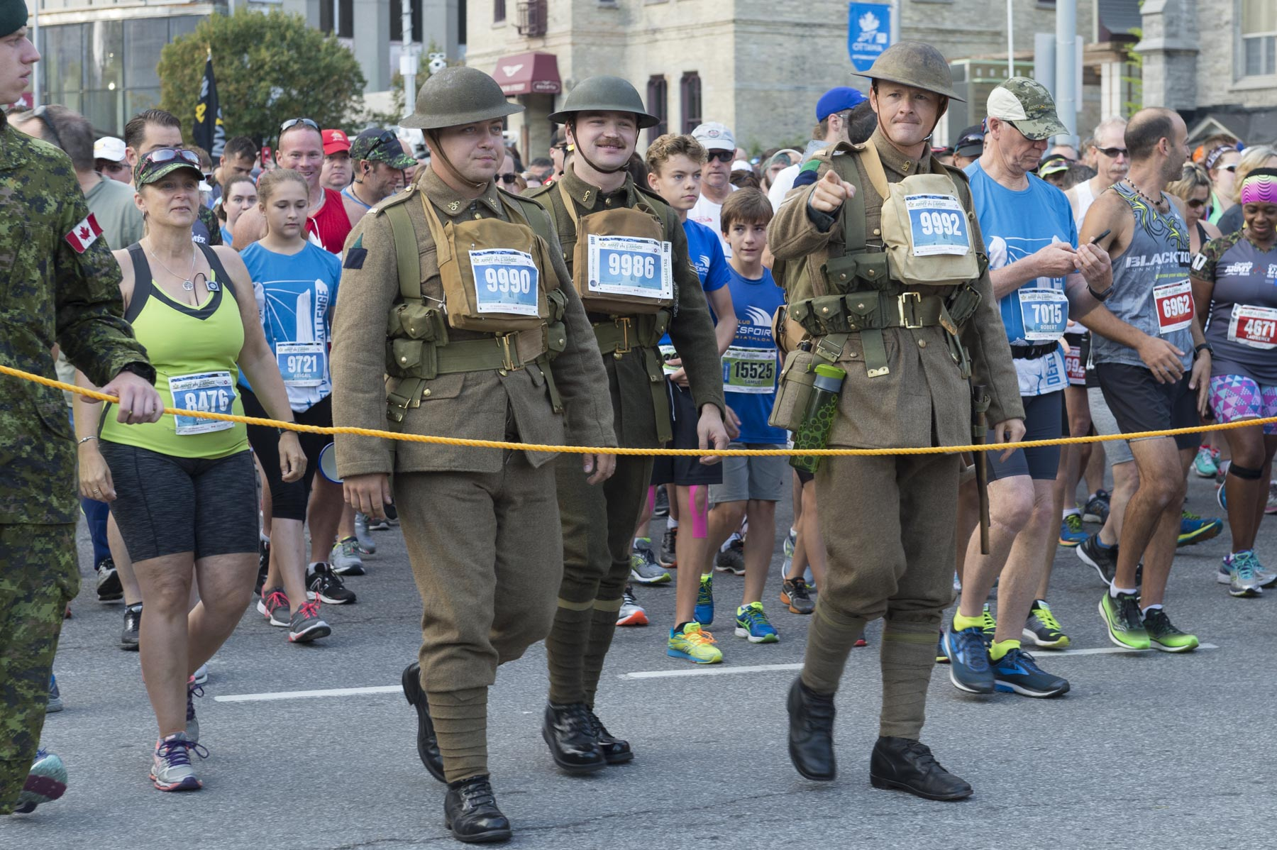 The Canada Army Run celebrates its 10th anniversary in 2017.