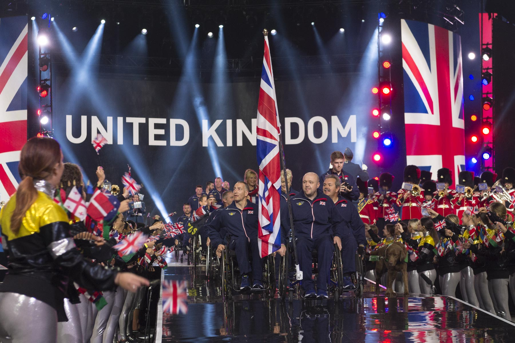Seventeen nations paraded into the Air Canada Centre. The third Invictus Games, which demonstrate soldiers' and veterans' endless drive to overcome and the power of sport on their journey to recovery, will be held from September 23 to 30, 2017, in Toronto.
