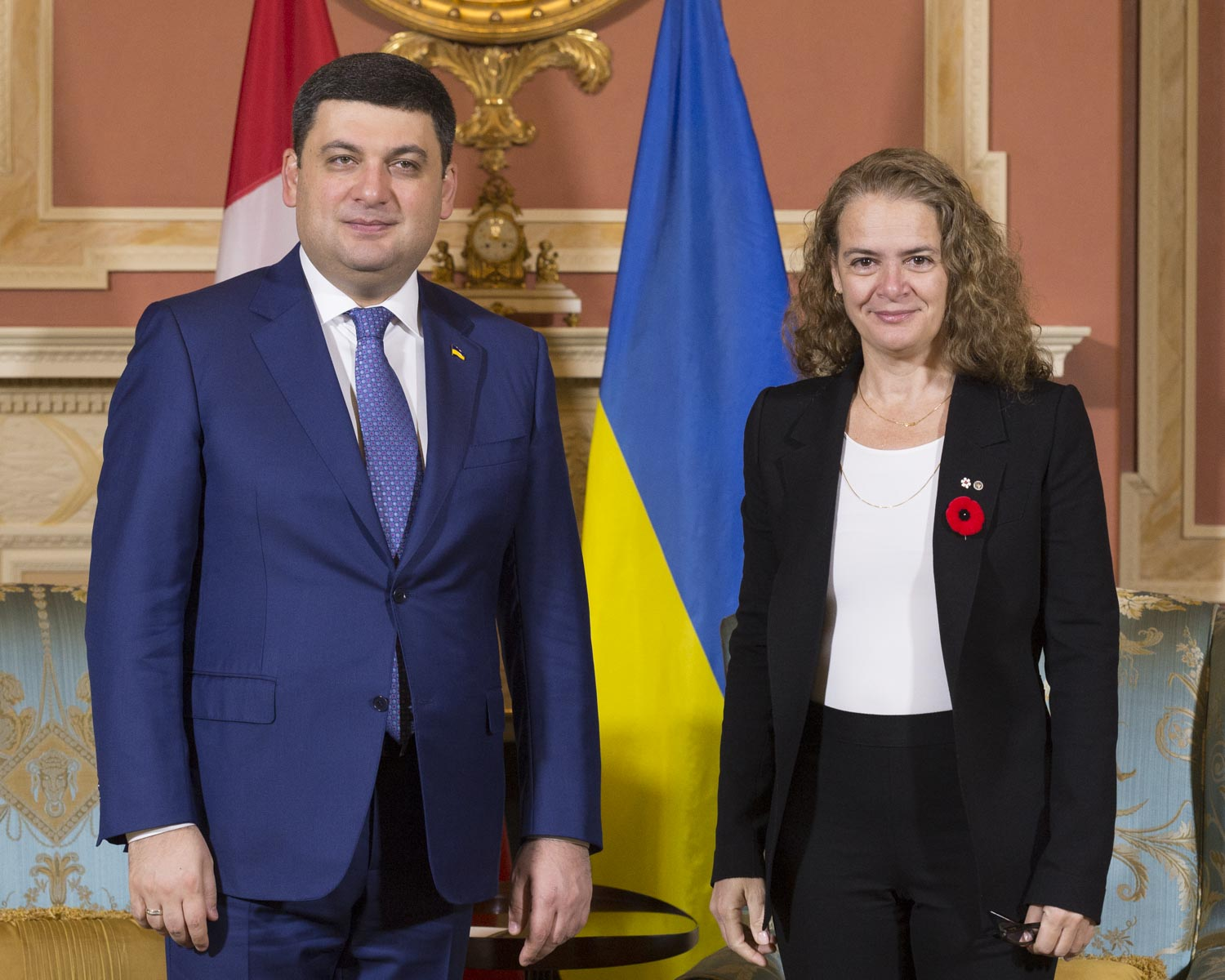Canada and Ukraine enjoy close relations rooted in the 1.3 million Canadians of Ukrainian heritage.