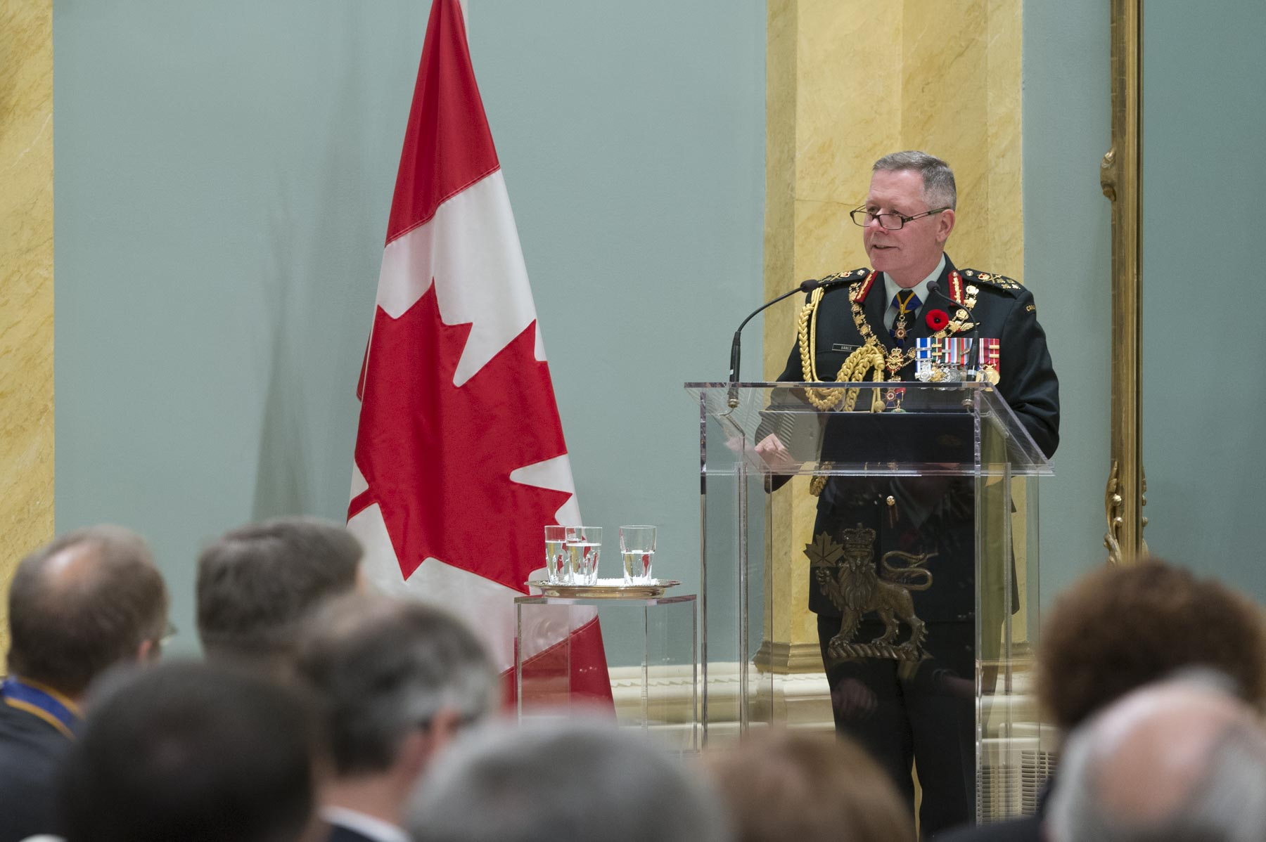 General Jonathan Vance, Chief of the Defence Staff also spoke during the ceremony.