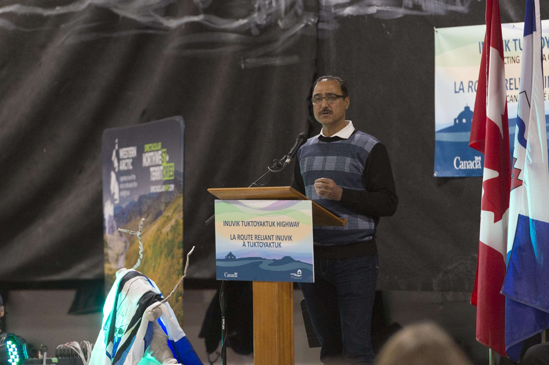 The Honourable Amarjeet Sohi, Minister of Infrastructure and Communities also delivered remarks.