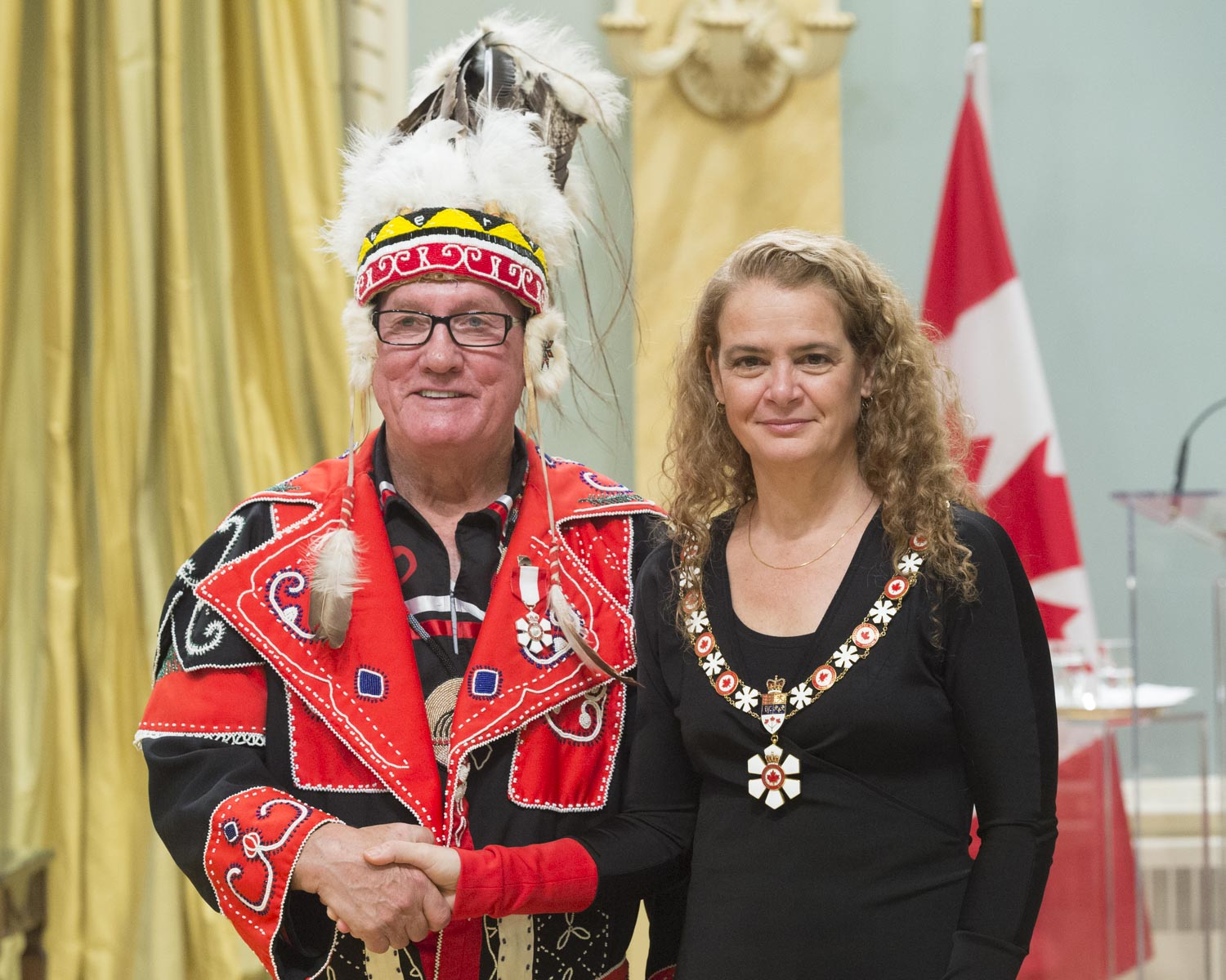 Chief Terrance Paul, C.M., has dedicated his life to establishing a better future for his constituents, especially for youth. For more than three decades, as a leader and member of Indigenous advisory committees, he has championed the preservation of language and history through education. He has also been instrumental in identifying economic opportunities for his community. Under his leadership, the Membertou First Nation became the first Indigenous community in the world to be certified under the International Organization for Standardization, in recognition of its efficient and sustainable growth.