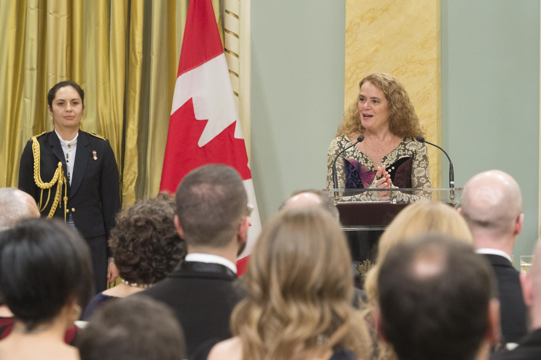 The Governor General presented the 2017 Governor General's Literary Awards during a ceremony at Rideau Hall.