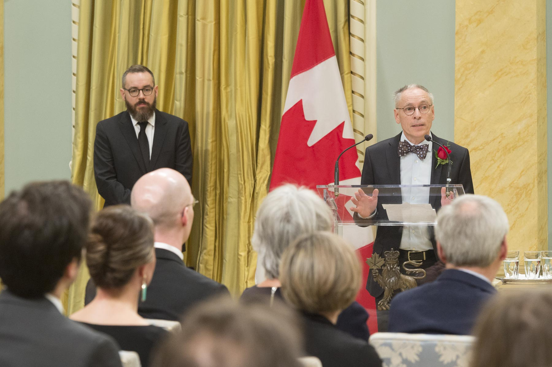 Jacques Goldstyn won his first Governor General's Literary Award for his book Azadah, which achieves the difficult goal of discussing a serious subject with a touch of poetry.