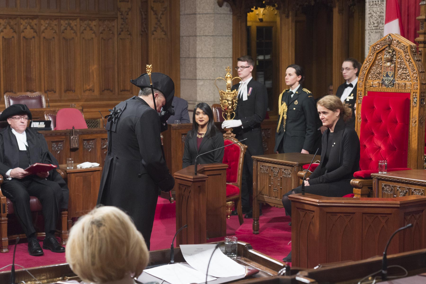 A total of eight bills were granted Royal Assent by the Governor General. Royal Assent is therefore the last stage in the legislative process and assembles the three constituent entities of Parliament (Crown, Senate, House of Commons).