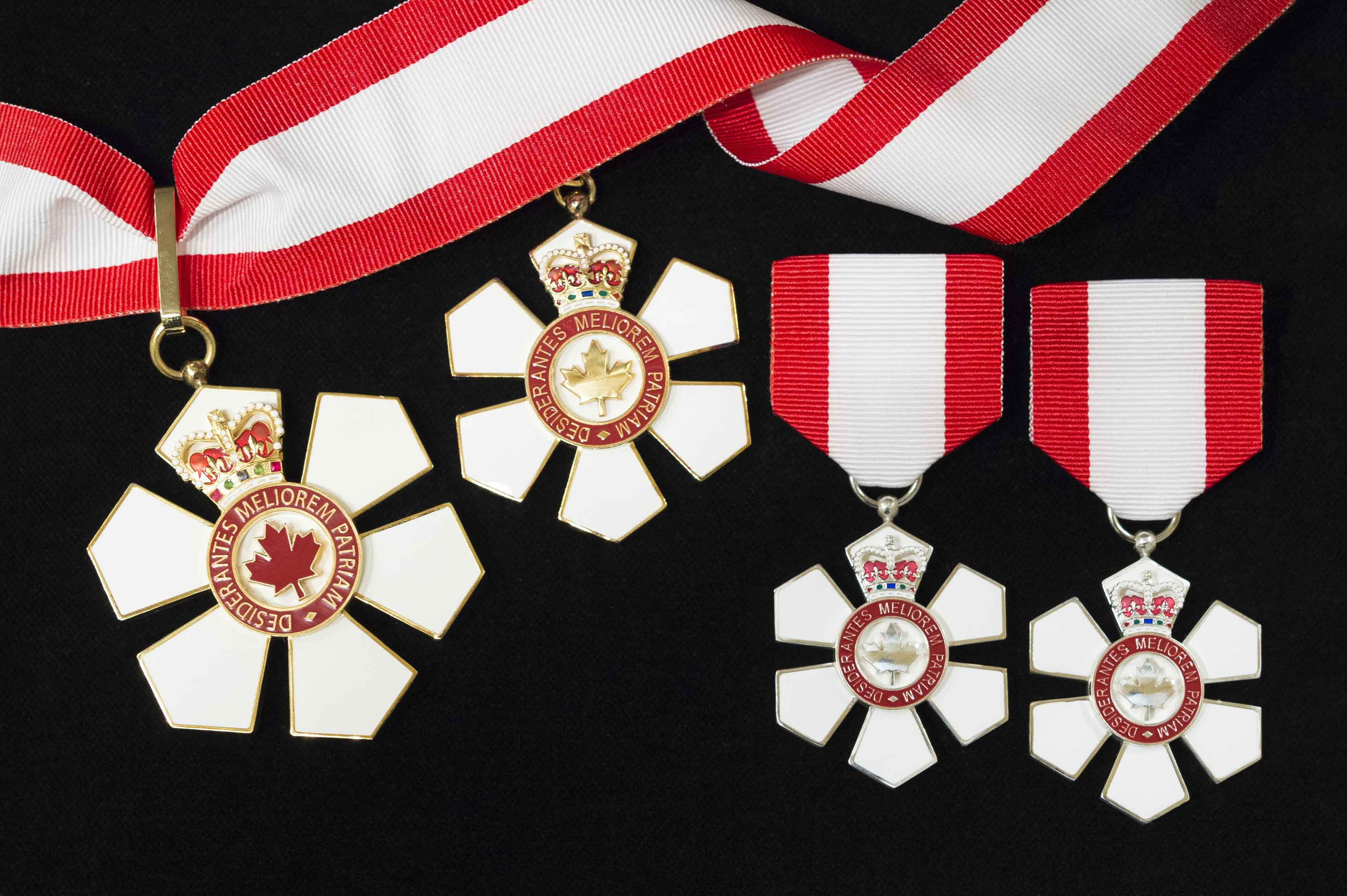 Governor General Julie Payette presided over an Order of Canada investiture ceremony at Rideau Hall, on January 24, 2018.