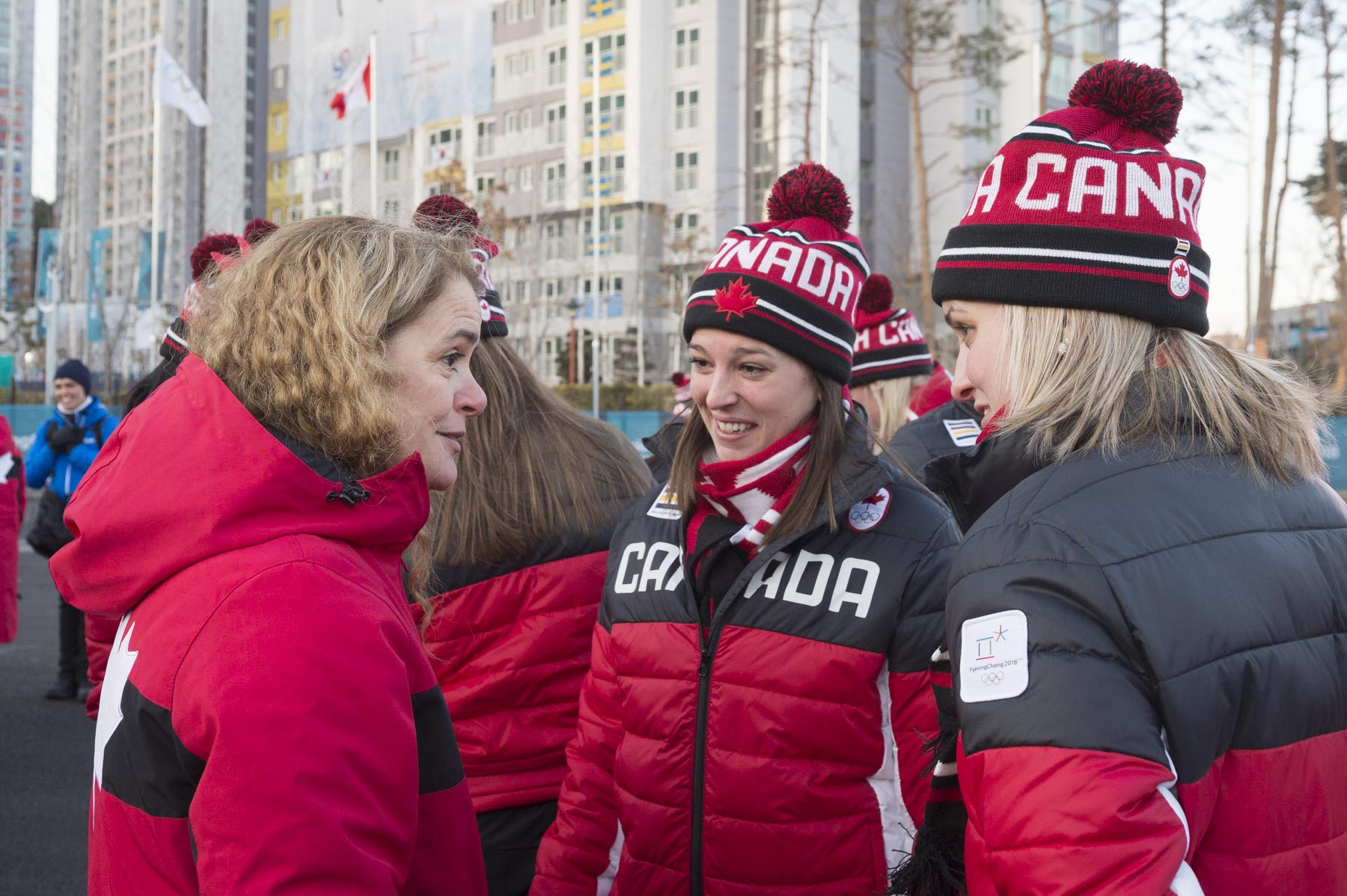 As Honorary Patron of the Canadian Olympic Committee, the Governor General plays a key role in supporting our athletes at the Olympic Games.