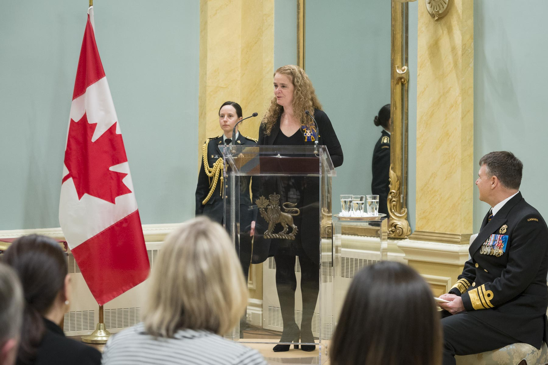 The ceremony, held at Rideau Hall, began with remarks from the Governor General who thanked the recipients for their incredible contributions.