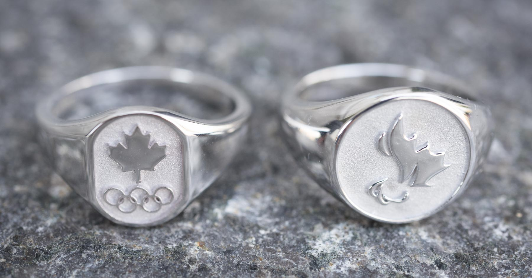 The Governor General and Tricia Smith, President of the Canadian Olympic Committee, presented the first Olympic and Paralympic rings to five athletes.