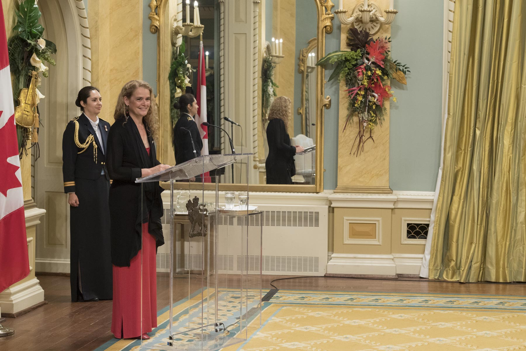 In her remarks during the presentation ceremony at Rideau Hall, the Governor General congratulated each recipient by highlighting their individual accomplishment.