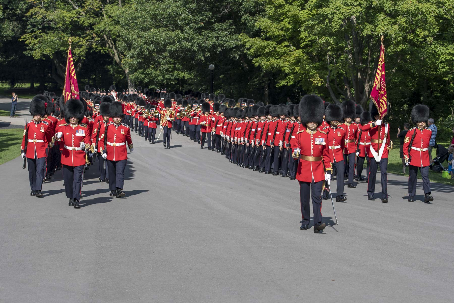 On Monday August 20, 2018, the Governor General and Commander-in-Chief of Canada invited the public to join her for the annual Inspection of the Ceremonial Guard on the grounds of Rideau Hall.