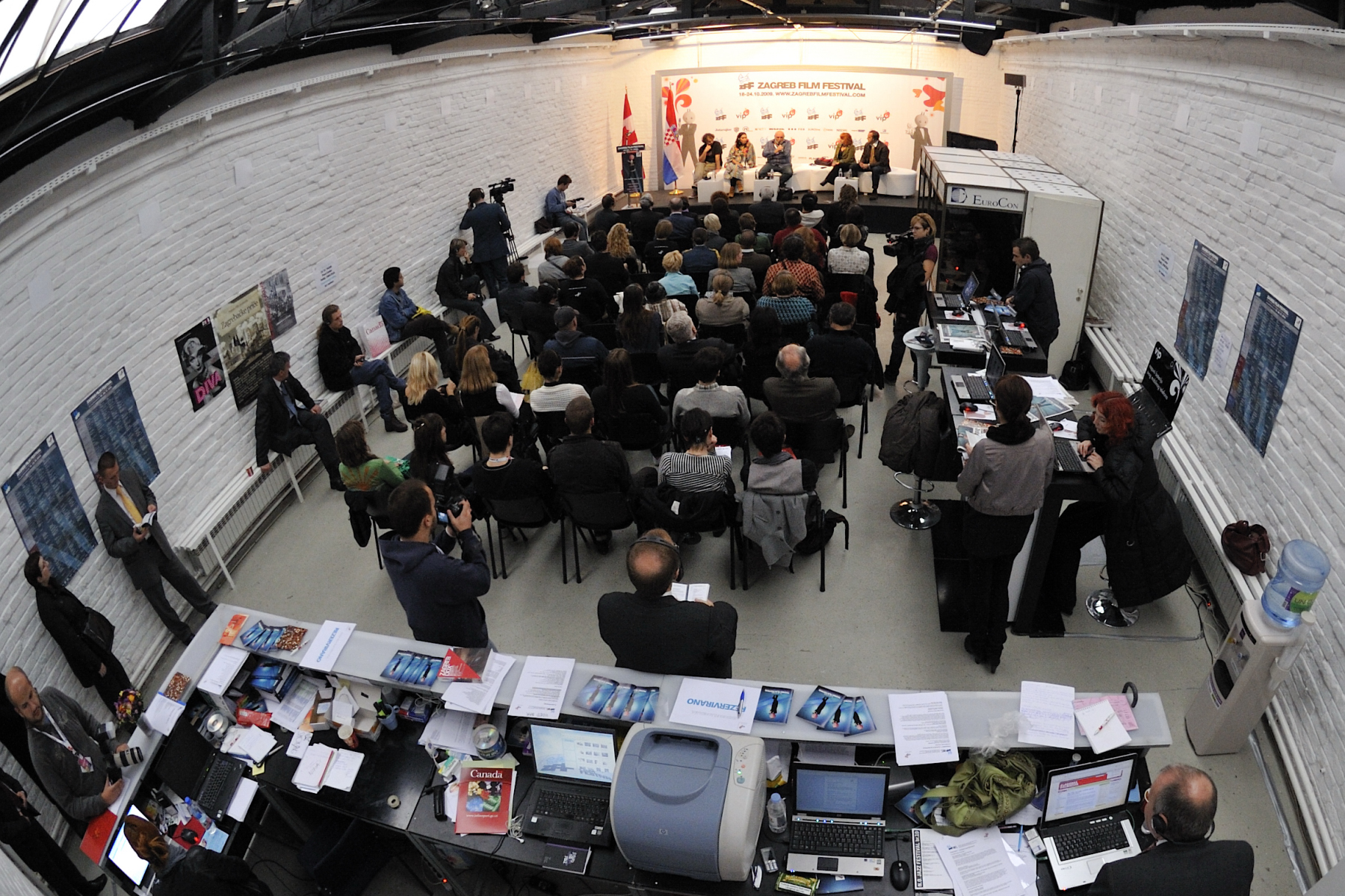The Public Art Matters Forum was held at Gallery Building at the Zagreb Film Festival in Croatia.