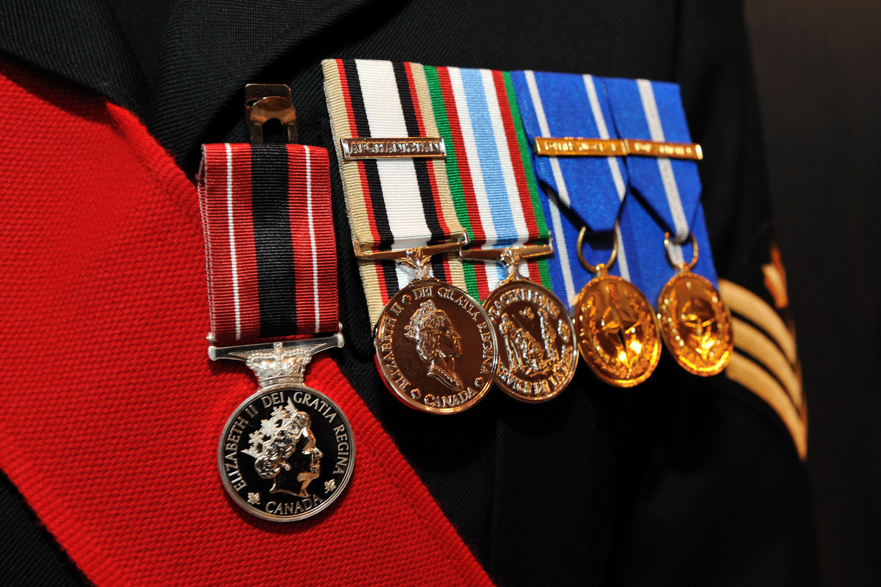 The Sacrifice Medal was created to provide a lasting form of recognition for the members of the Canadian Forces and those who work with them who have been wounded or killed by hostile action and to those who died as a result of service.