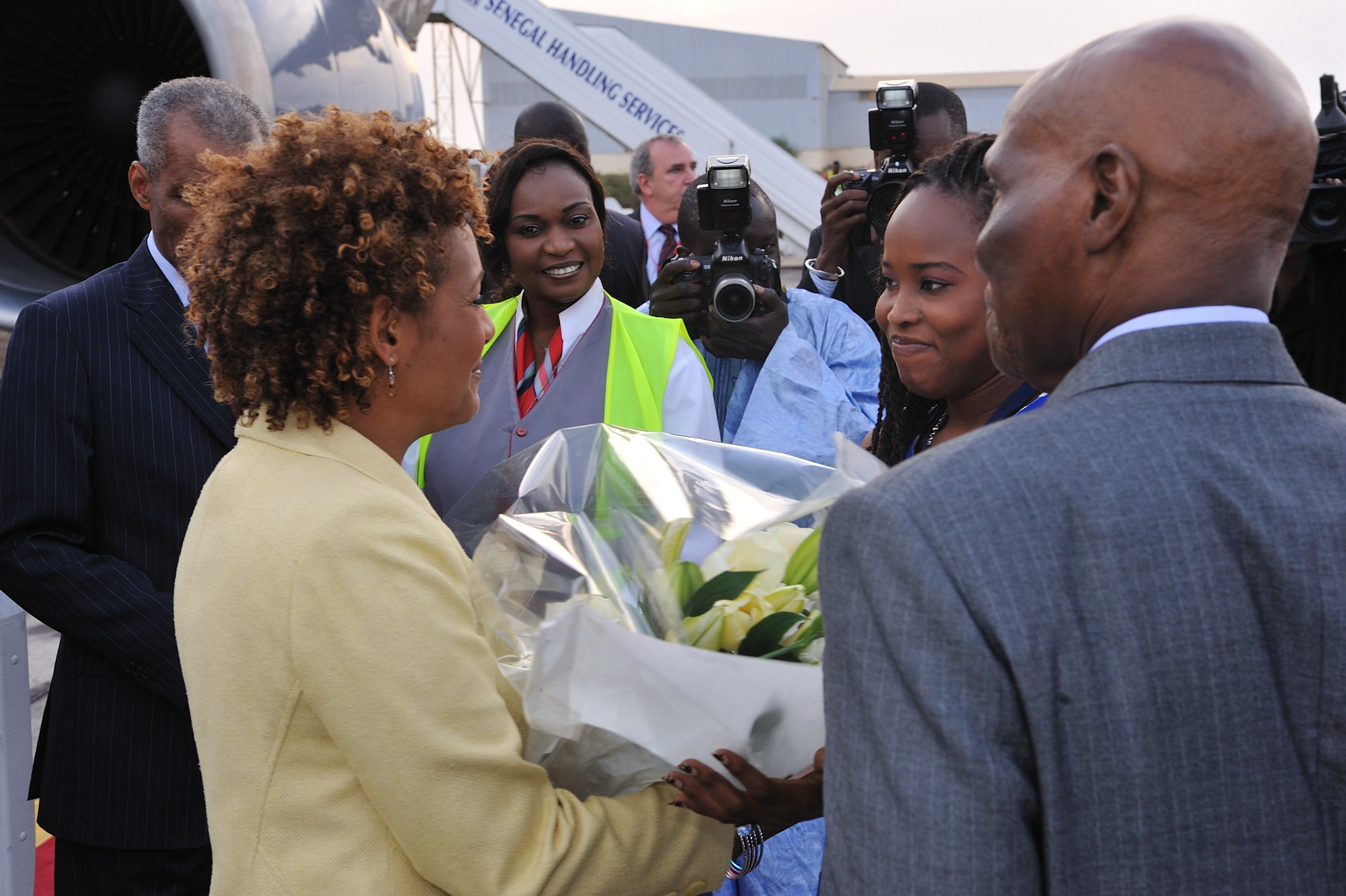 """Returning to this continent is a new opportunity to bear witness to an Africa that is full of excitement and promise, an Africa called to take its rightful place in the world,"" said the Right Honourable Michaëlle Jean. ""I wanted to visit central Africa to encourage the efforts to bring peace to the region, to rebuild and to restore the ties of trust and the rule of law."""