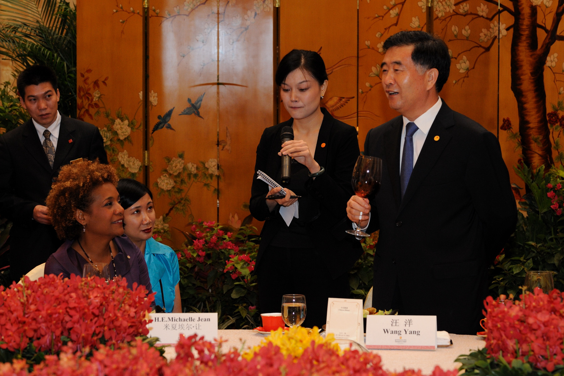 The Guangdong Leadership hosted a dinner in honour of Her Excellency's visit to the province.