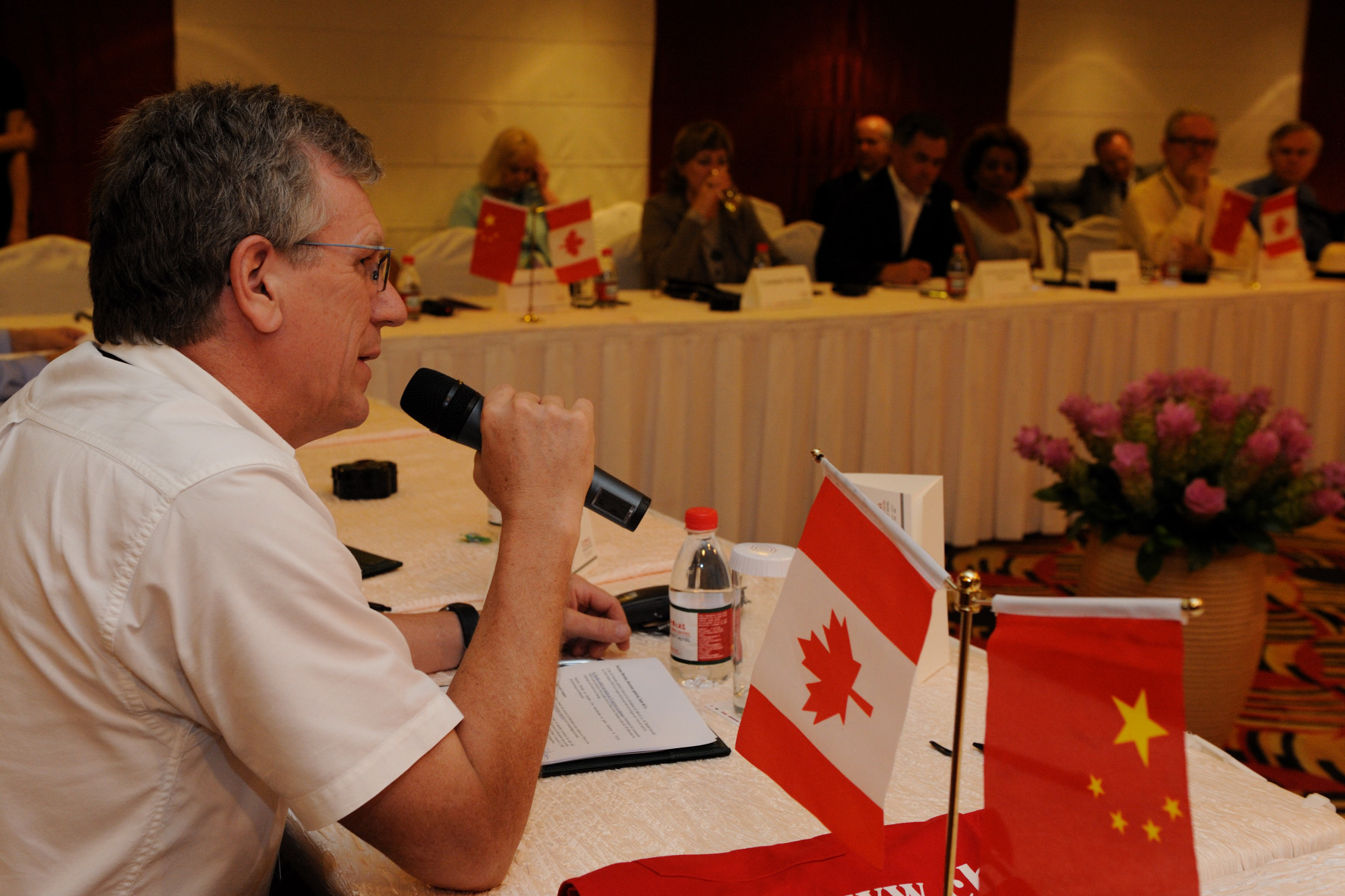 Canadian delegates participated in the event.