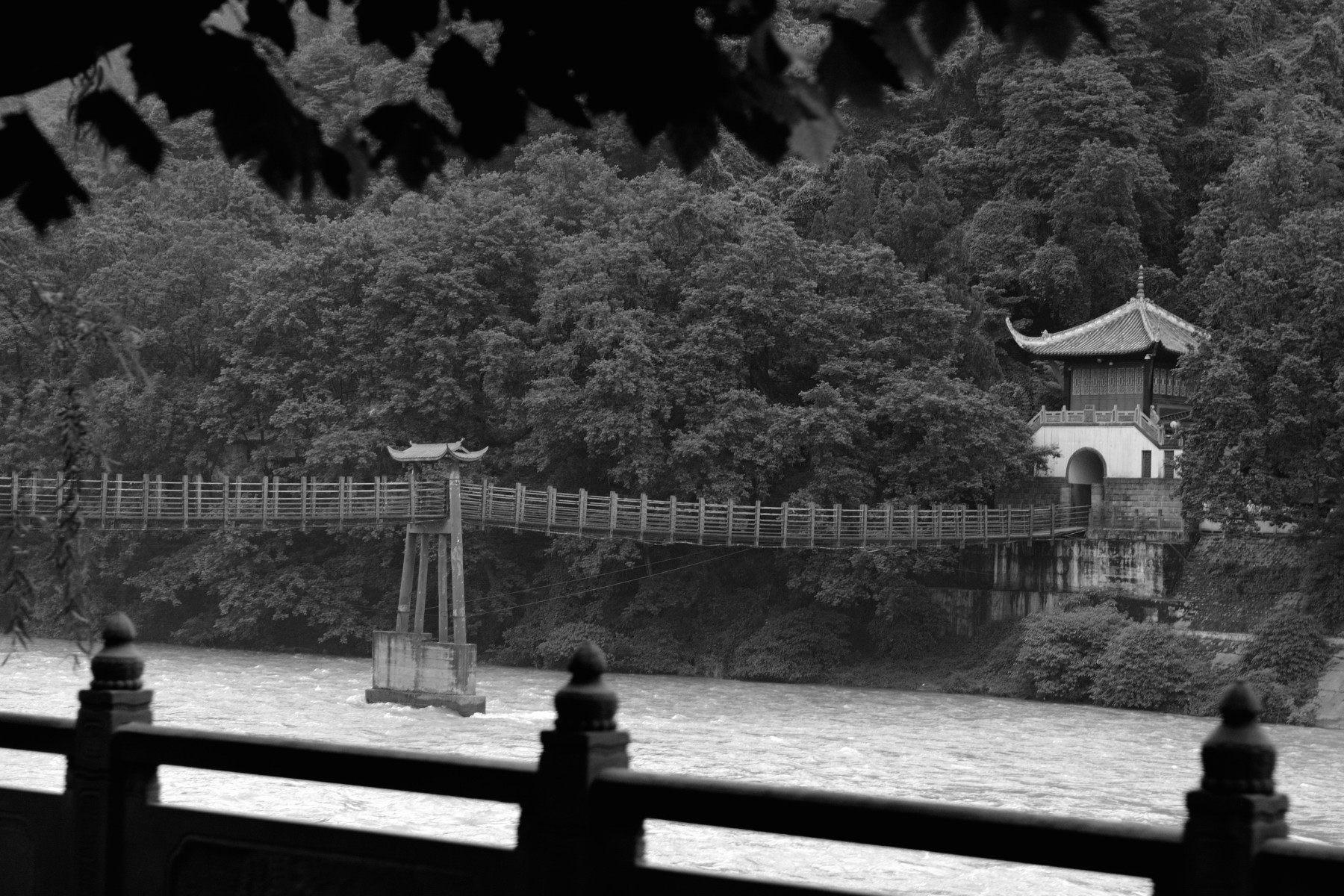 The Dujiangyan Irrigation System is a UNESCO World Heritage Site.