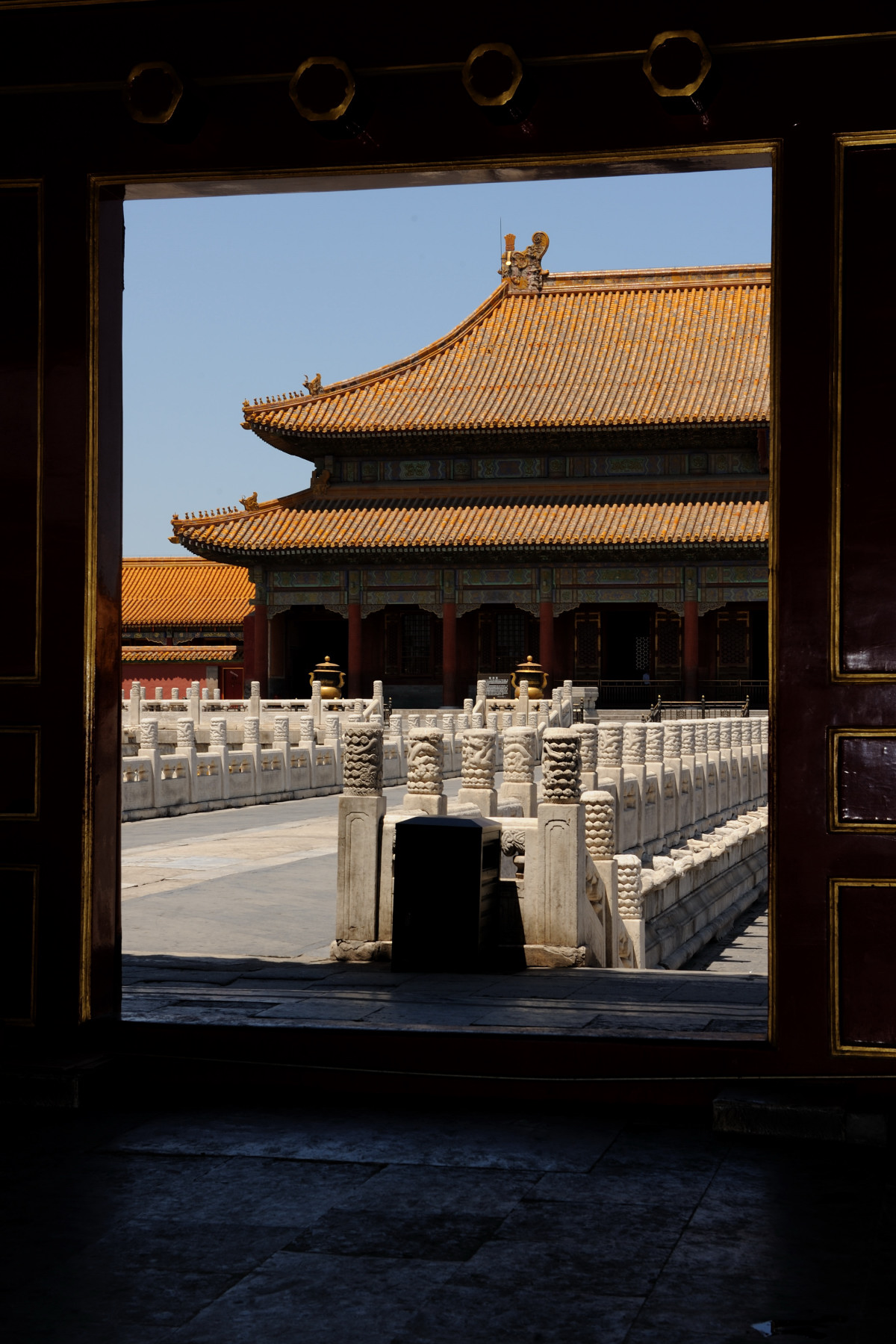All had the chance to see the Chinese imperial palace from the Ming Dynasty to the end of the Qing Dynasty.