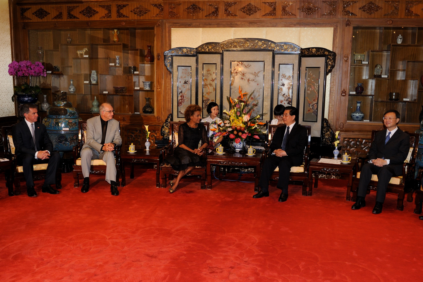 The Canadian delegation was also invite to the meeting.