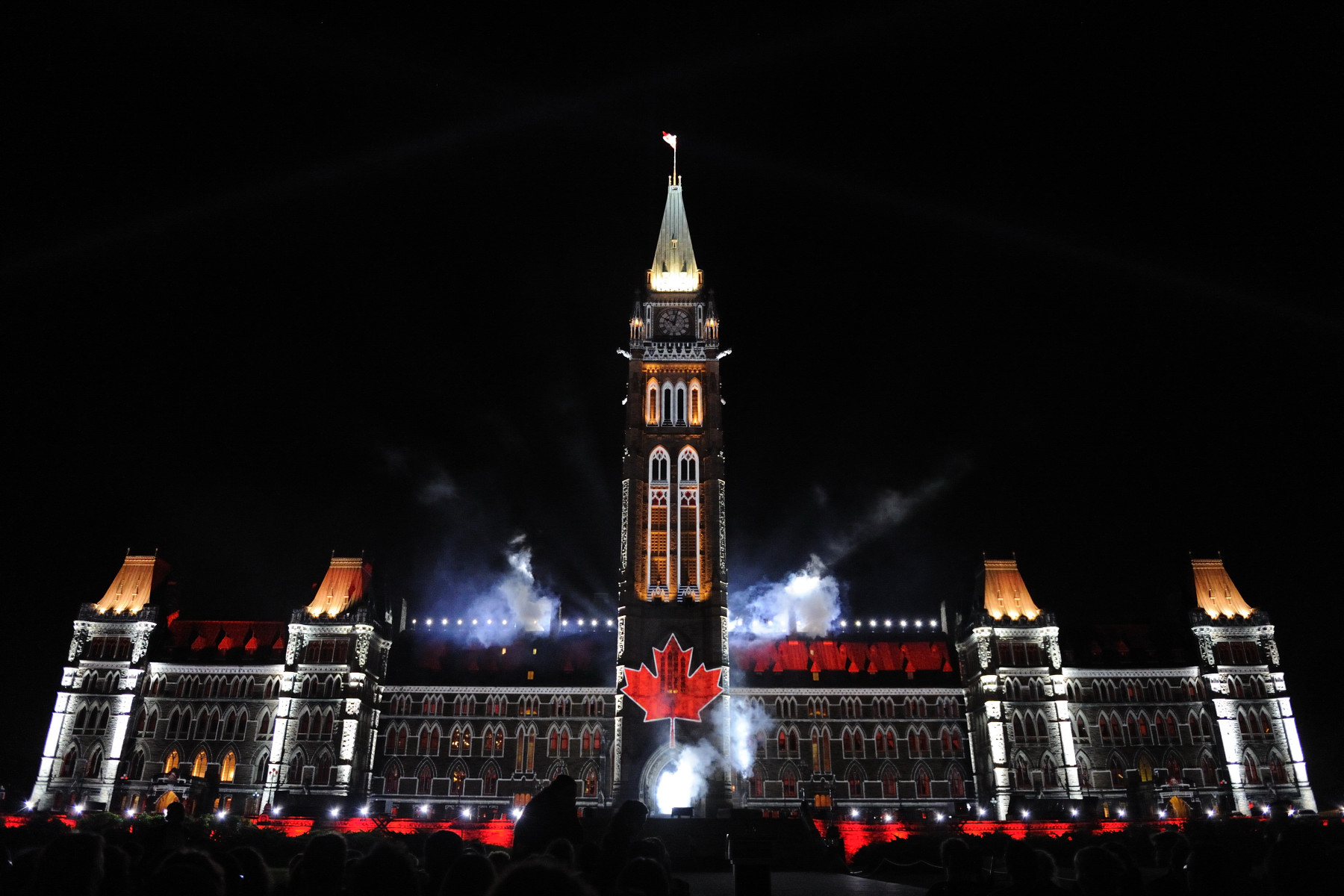Mosaika: Canada through the eyes of its people is a new 30-minute experience which uses spectacular lighting effects, stunning image projections and a rich tapestry of words, music and sounds to tell the story of Canada with a powerful narrative set against the spectacular backdrop of the Peace Tower and the Centre Block on Parliament Hill. It is presented free of charge evenings until September 12, 2010, and for the next four summers.