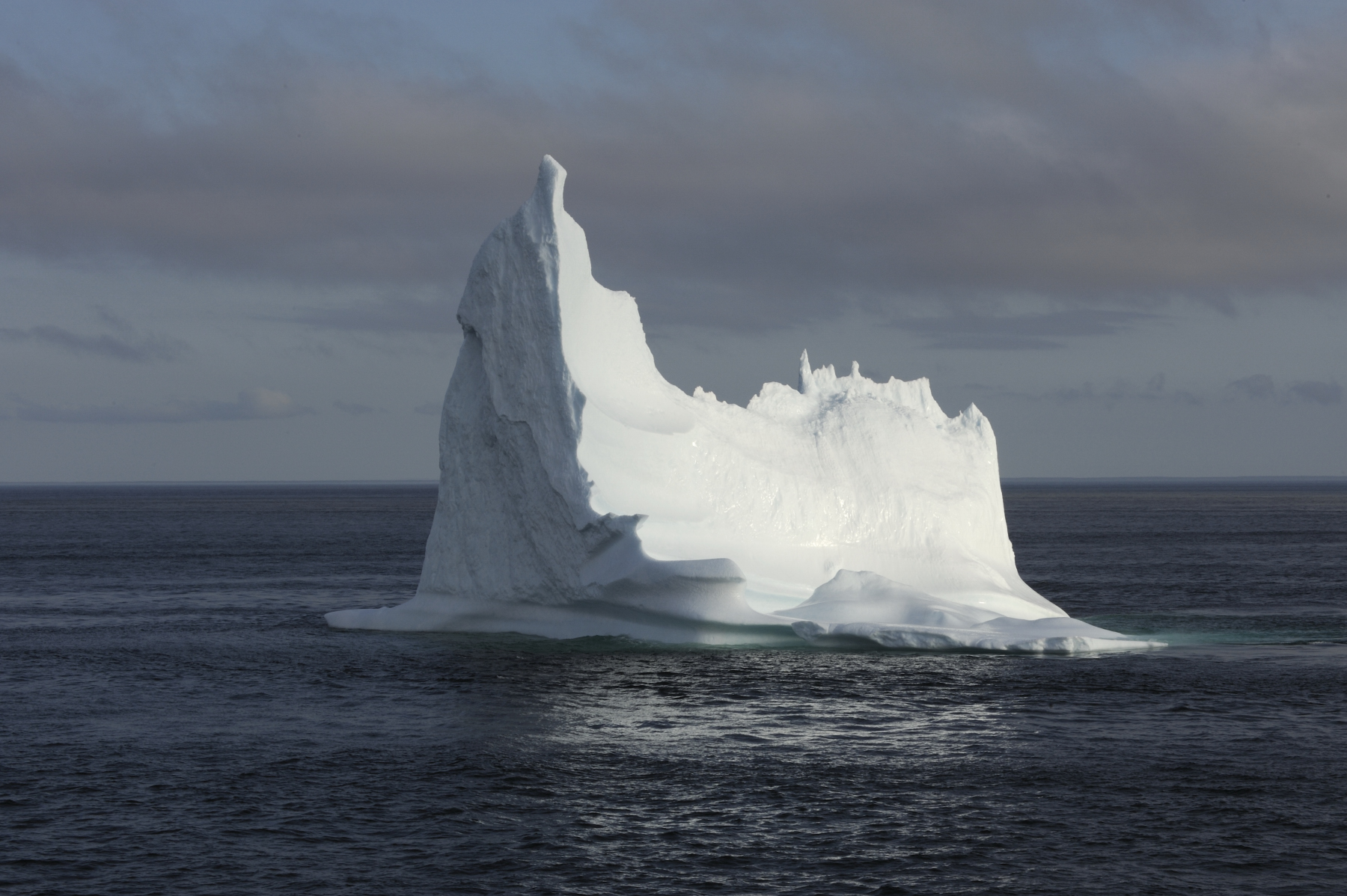 A beautiful iceberg was found en route to Red Bay.