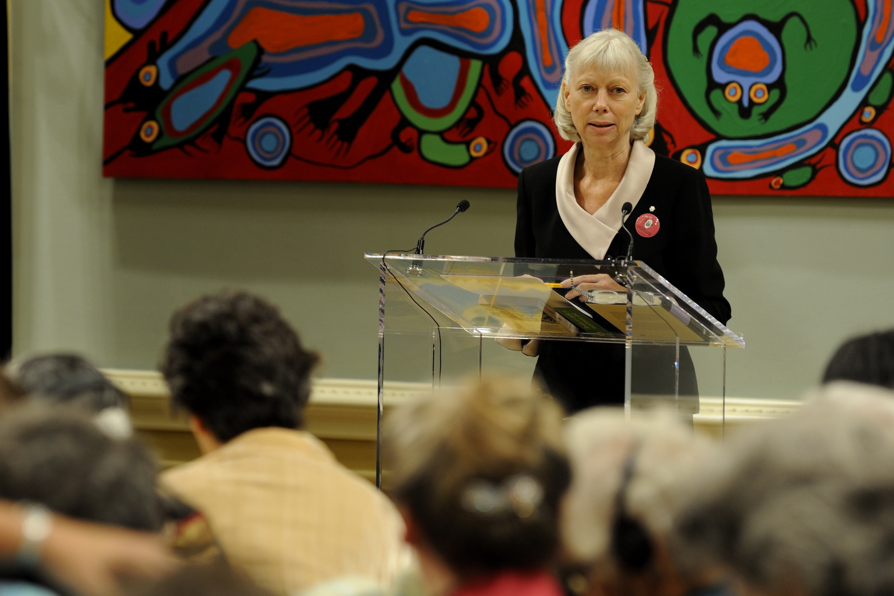 During the first morning of the conference, Constance Backhouse, professor of law at the University of Ottawa analyzed the evolution of Canadian women's rights since the Canadian Bill of Rights in 1960 and talked about the intrinsic link between rights and security. Her colleague Lucie Lamarche was also a speaker.