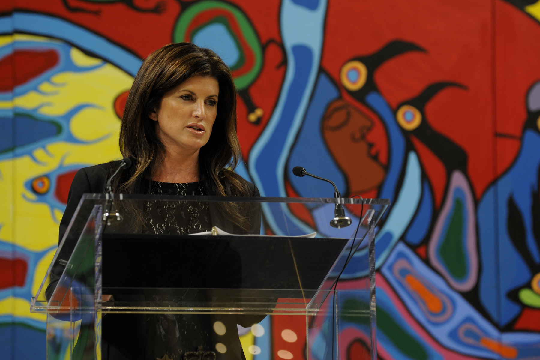 Rona Ambrose, Minister for the Status of Women, thanked the women for speaking out.