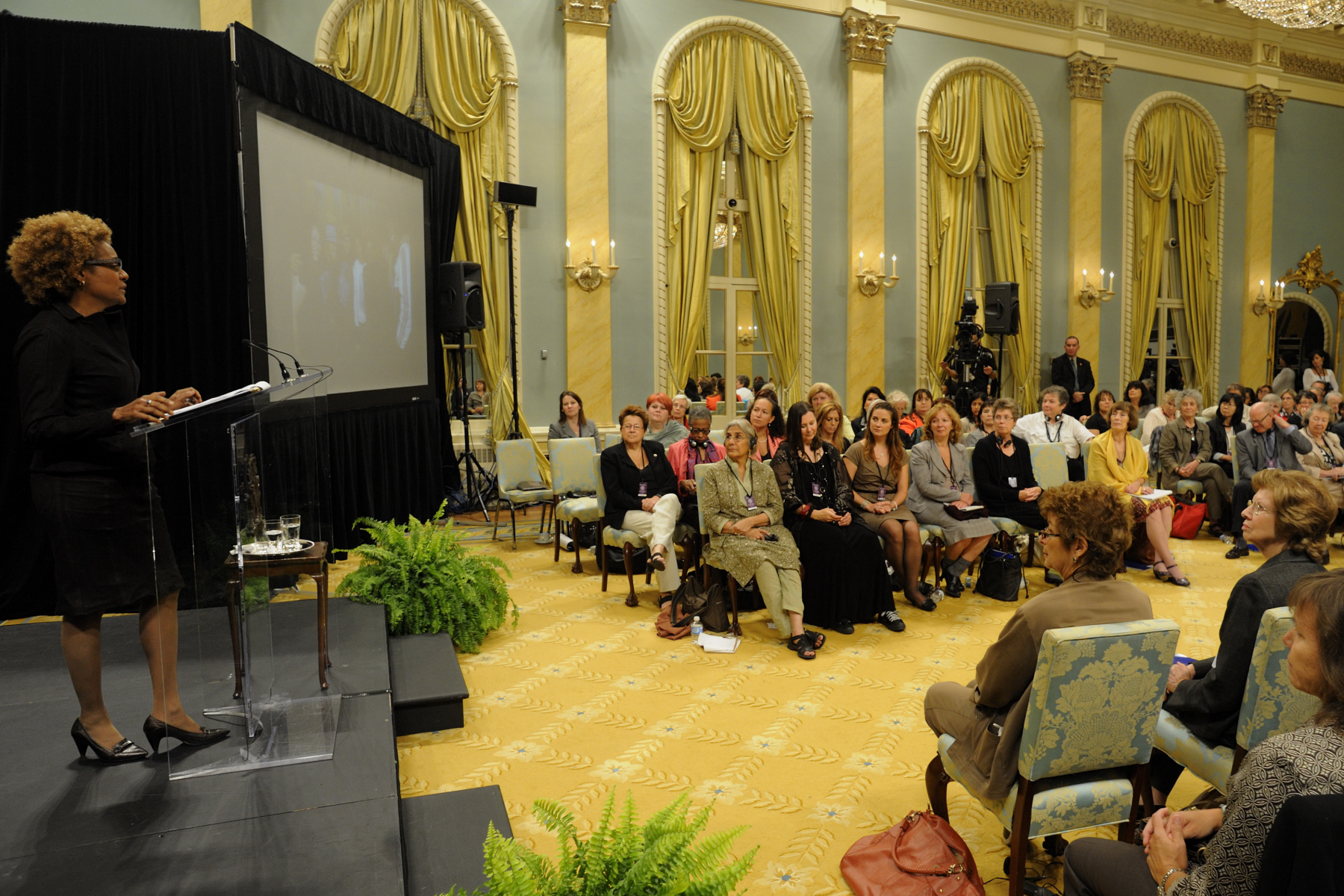 The Governor General ended these incredible two days by sharing her impressions on what she heard.