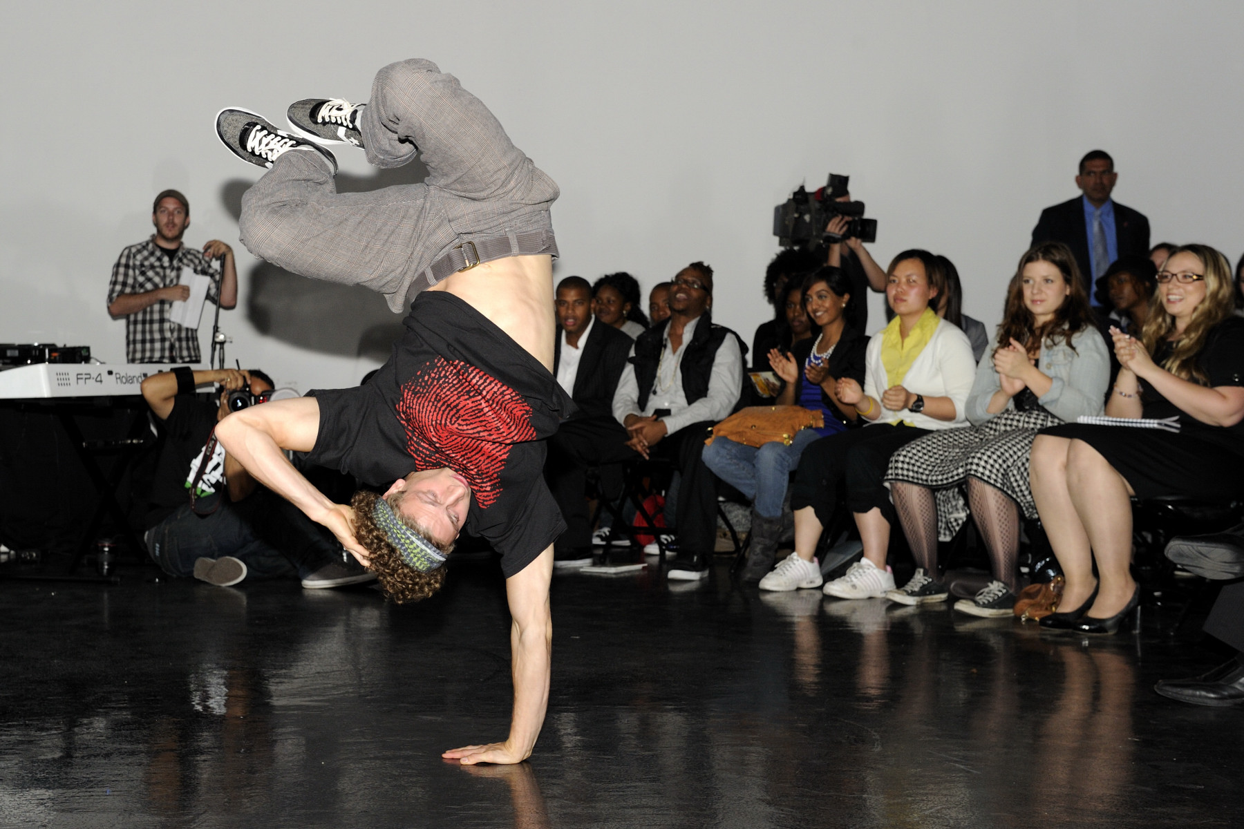 Hip-hop performances by Blue Print For Life entertained the crowd.