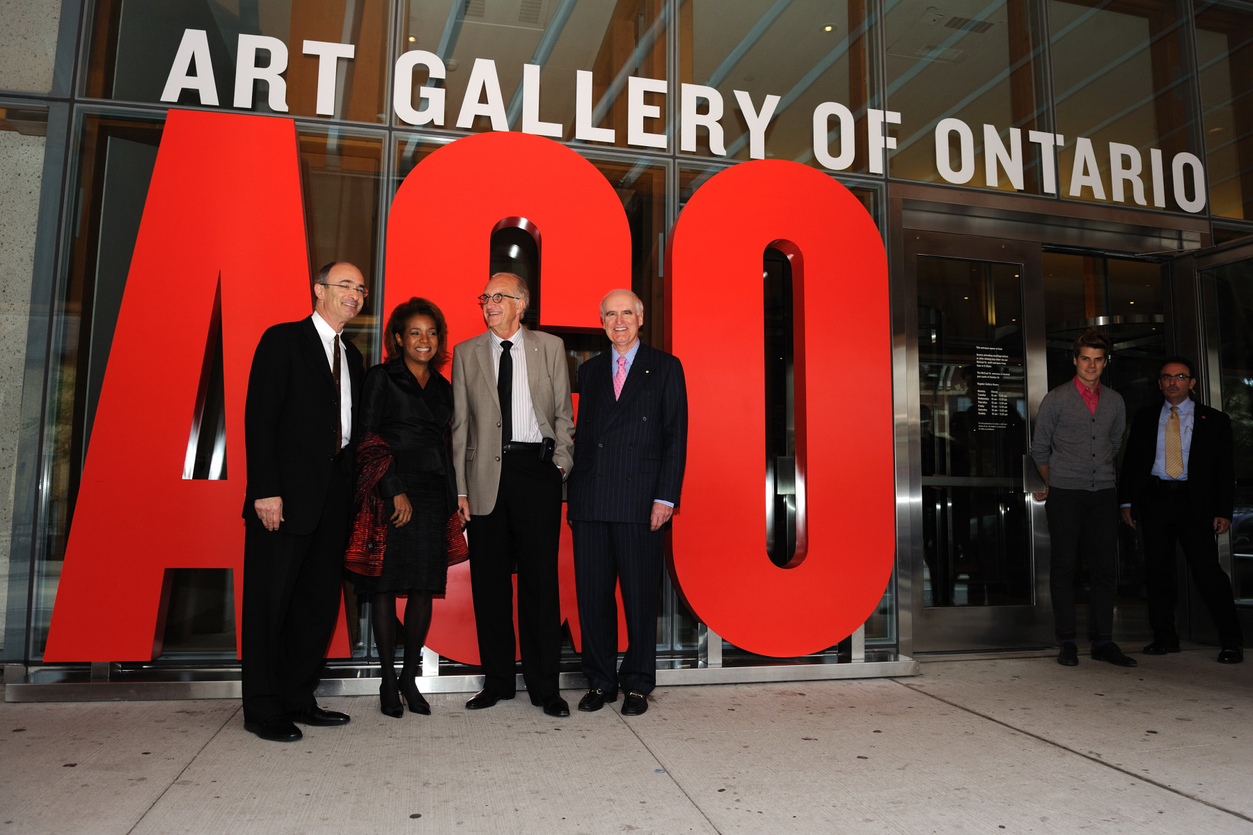 Their Excellencies the Right Honourable Michaëlle Jean, Governor General of Canada, and Mr. Jean-Daniel Lafond visited the redesigned Art Gallery of Ontario (AGO) and viewed its collections.