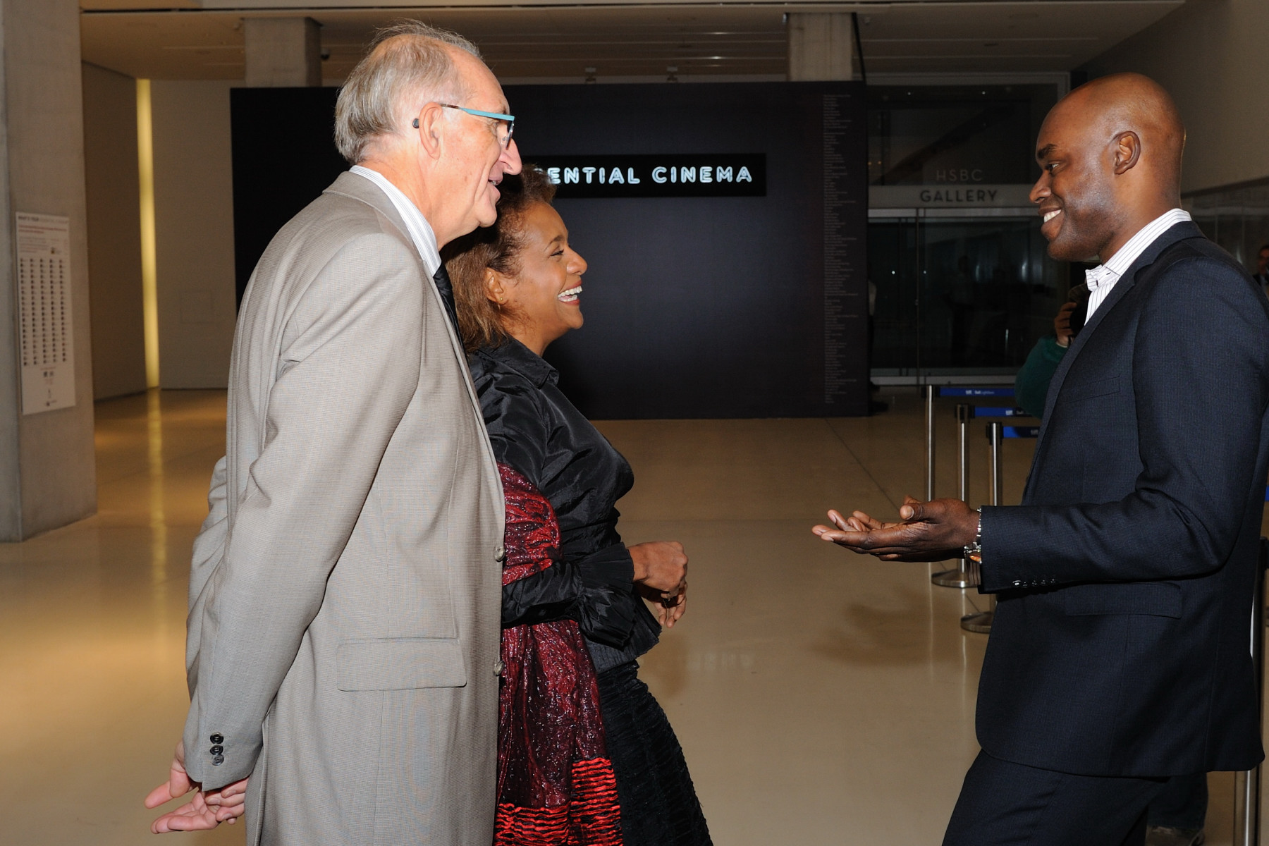 In the presence of Mr. Cameron Bailey, co-director of the Toronto International Film Festival, Their Excellencies visited the Toronto International Film Festival (TIFF) Bell Lightbox, the new year-round home of TIFF.