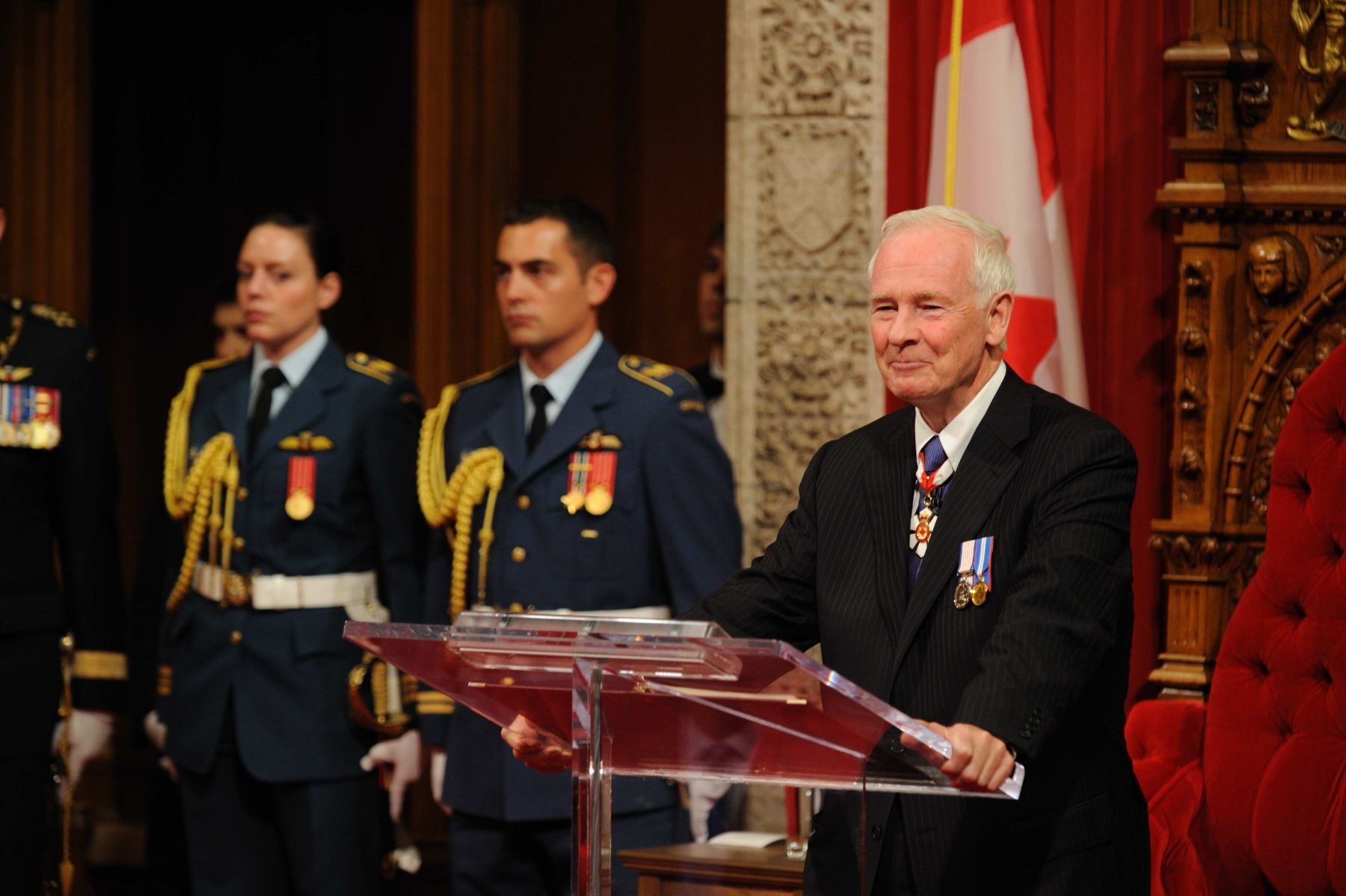 David Johnston became the 28th Governor General of Canada today during an installation ceremony.