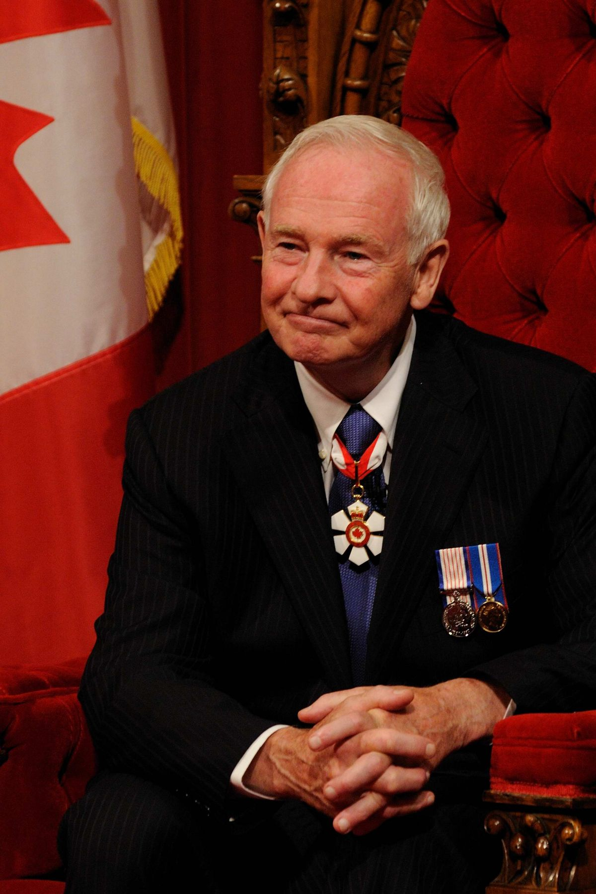 His Excellency David Johnston was born in Sudbury, Ontario, and is married to Mrs. Sharon Johnston. They have five adult daughters and seven grandchildren.