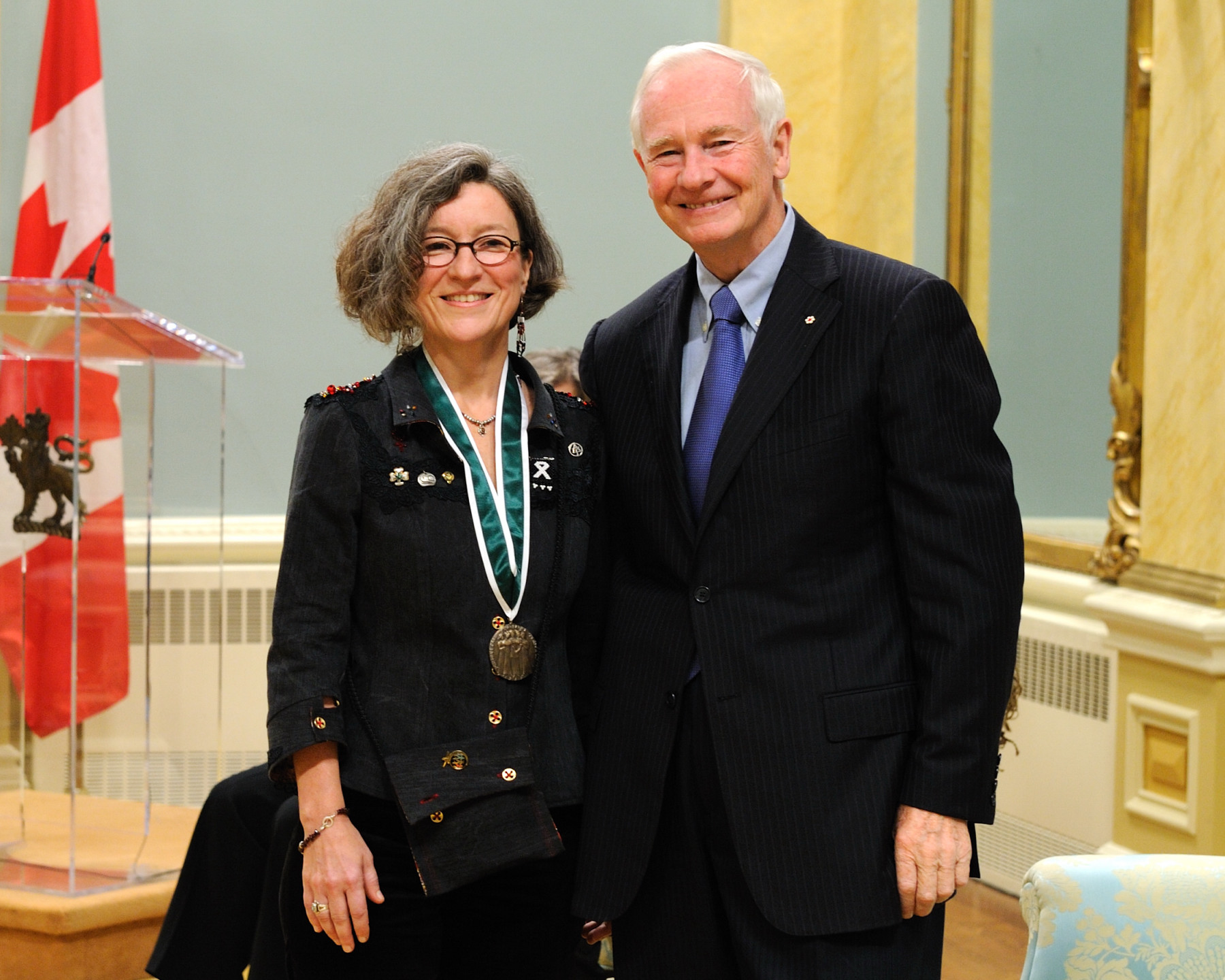 Ms. Anne Michaud from Montréal, Quebec, received the 2010 Governor General's Awards in Commemoration of the Persons Case. In 2002, Ms. Michaud co-created Women in Cities International, a network that promotes the dissemination of knowledge and best practices regarding women's safety and gender equality in urban settings.