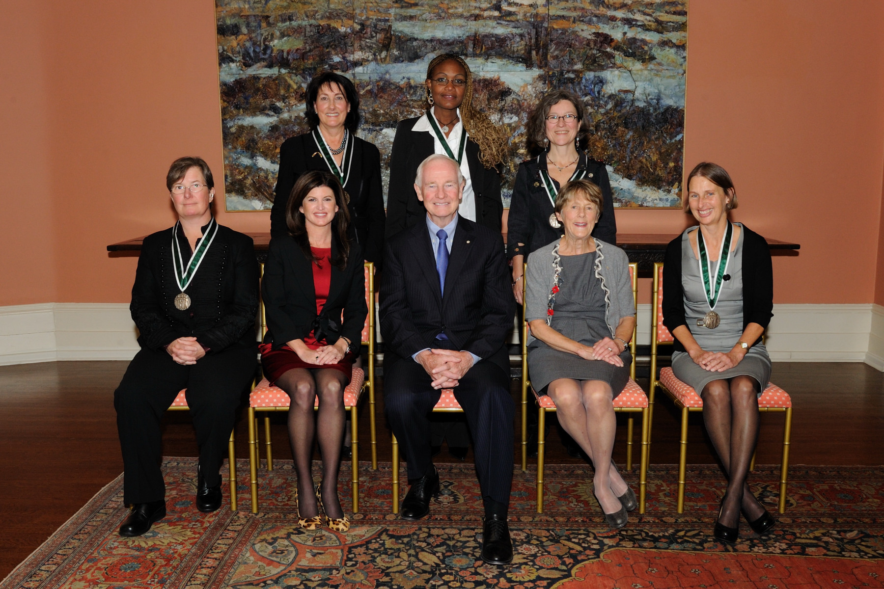 In 1929, five women from Alberta won the judiciary battle that granted Canadian women the right to be recognized as persons. The Governor General's Awards in Commemoration of the Persons Case were established in 1979 by the government of Canada, with the support of former governor general, the Right Honourable Edward Schreyer, to celebrate the 50th anniversary of this historic decision.