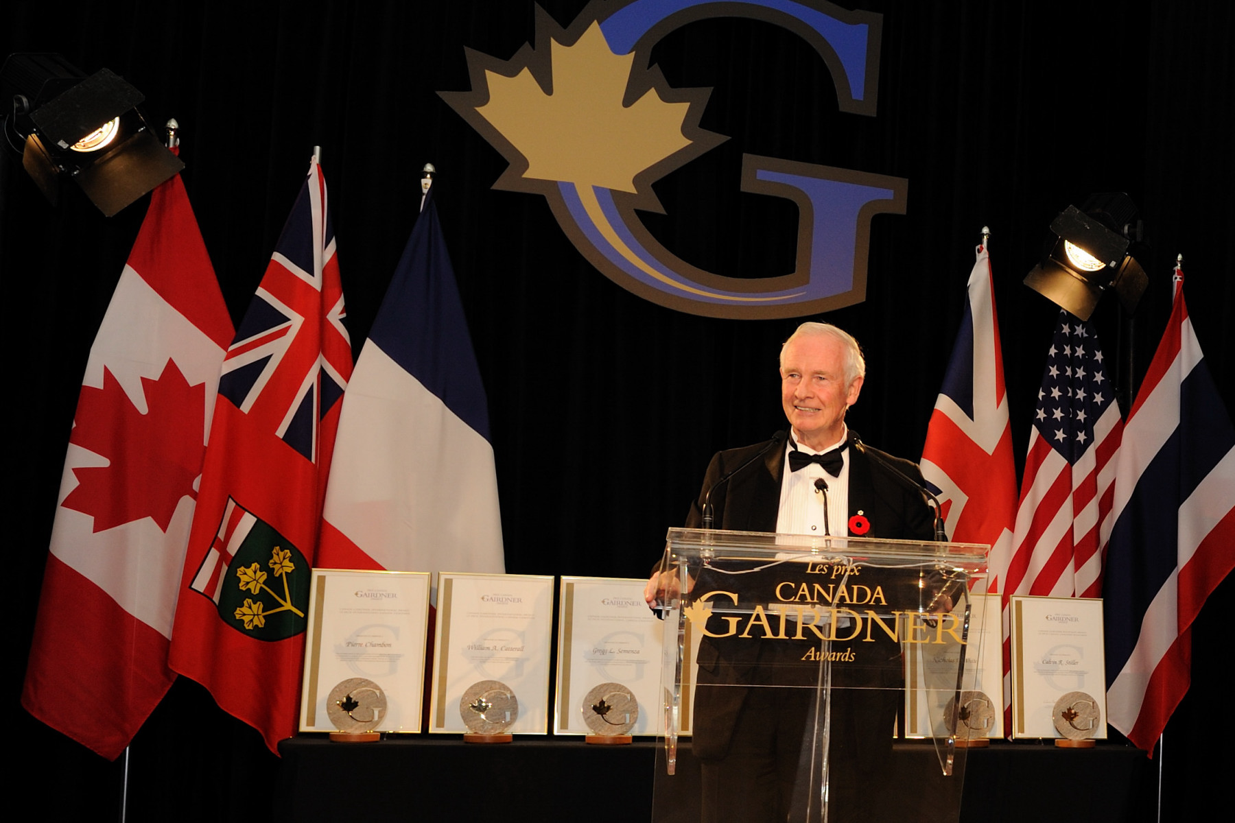 The Governor General delivered a keynote address on the important leadership role the Gairdner Foundation plays in recognizing innovative research, as well as the value of science research to Canada.