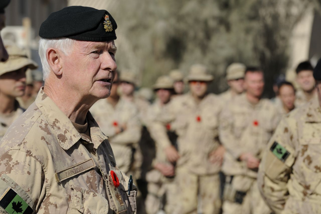 His Excellency the Right Honourable David Johnston, Governor General and Commander-in-Chief of Canada, completed his first visit abroad to Afghanistan.